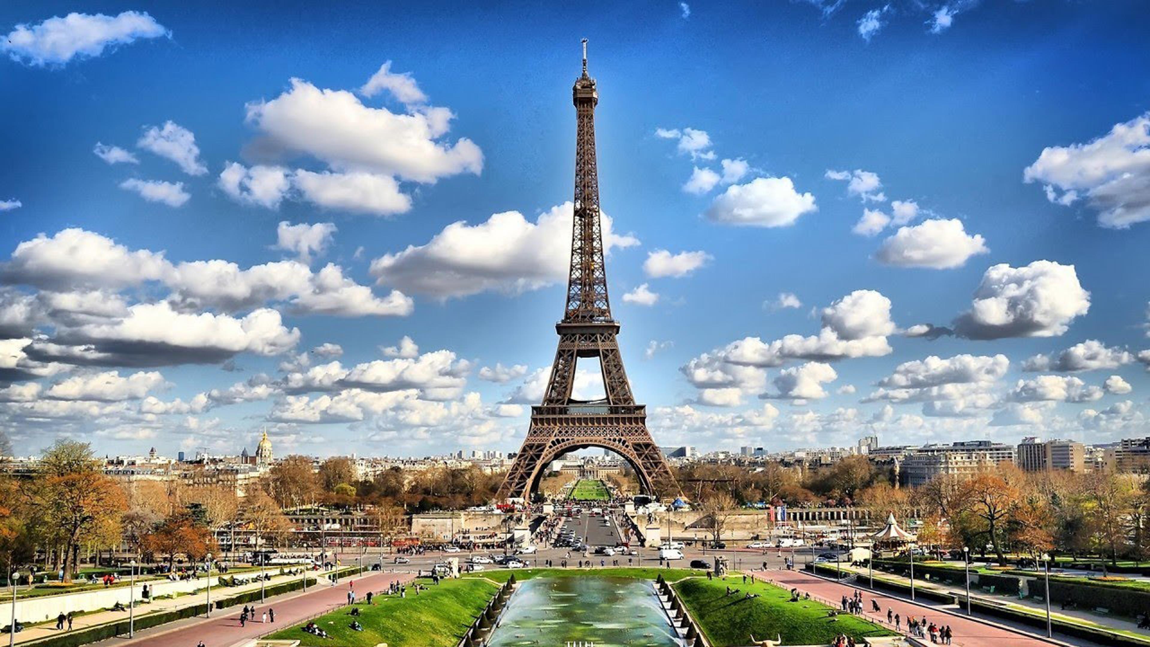 Eiffel 4K Wallpaper 3840×2160