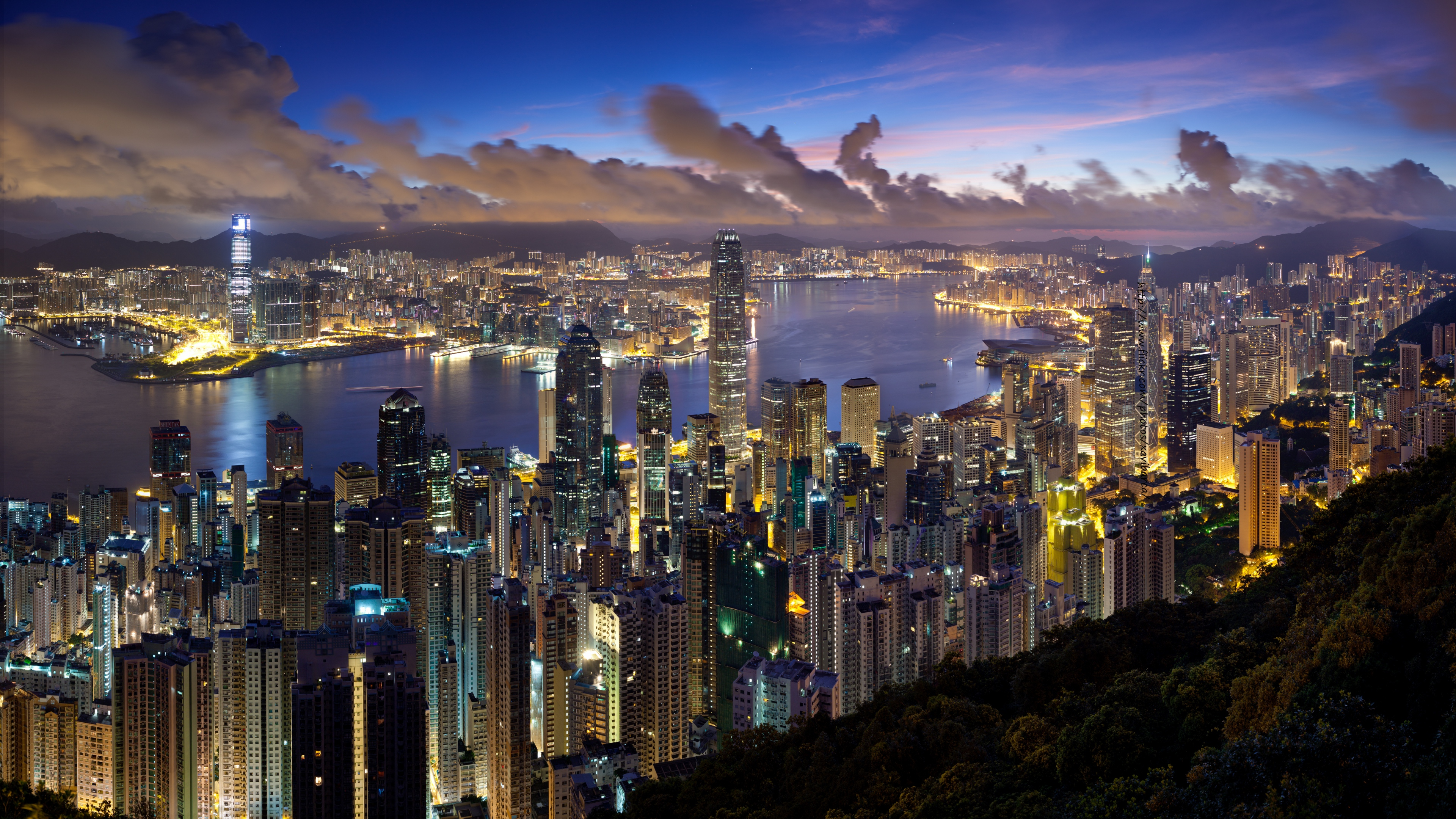 Hong Kong 4K Wallpaper 3840×2160