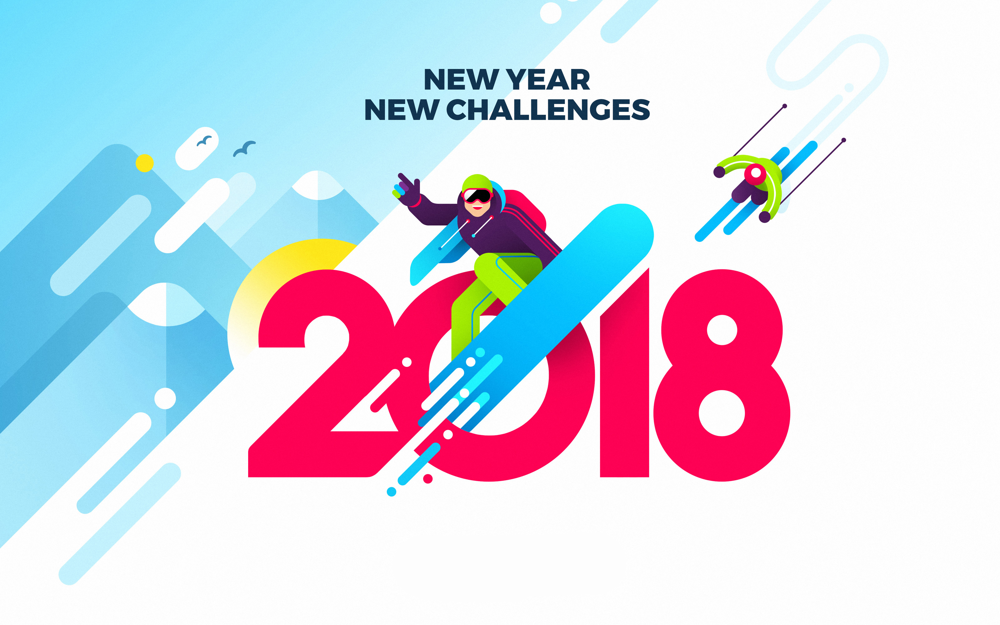 2018 New Year New Challenges