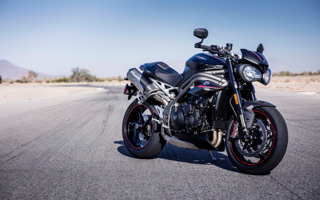 2018 Triumph Speed Triple RS 4K Wallpaper Download