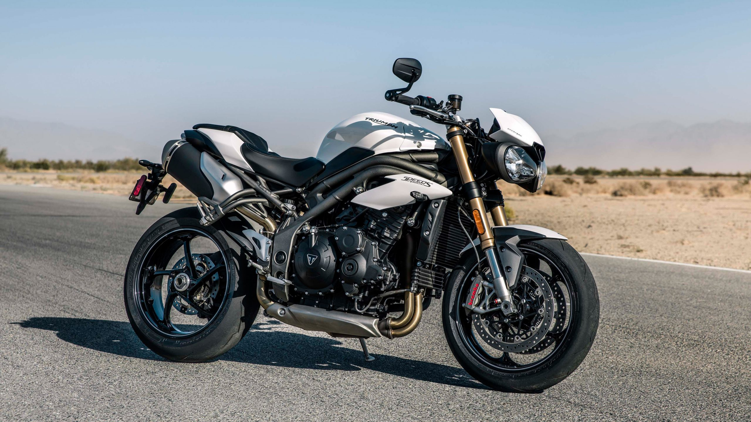2018 Triumph Speed Triple S 4K Wallpaper Download