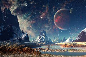 4K Creative Universe Planet Wallpaper