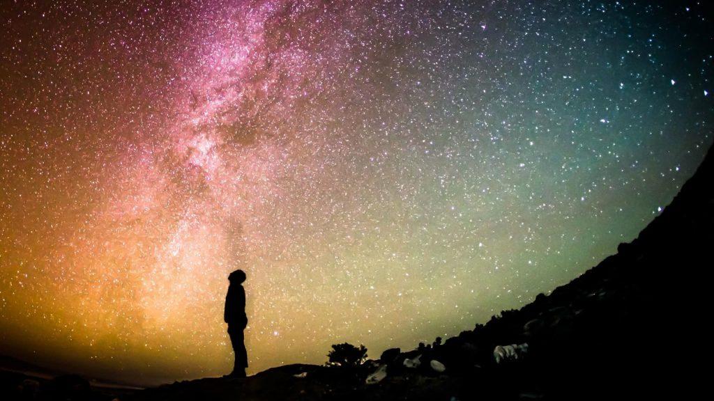 4k Galaxy Wallpaper Stars Night sky Night Starry night Starry sky