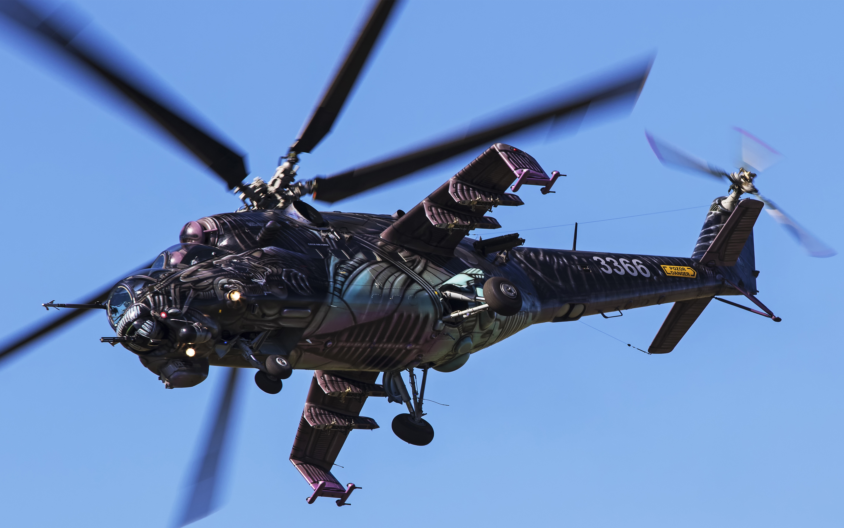 Attack Helicopter Mil Mi 24