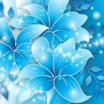 Blue Flower Wallpaper High Resolution