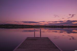 Download Purple Sunset HD Wallpaper