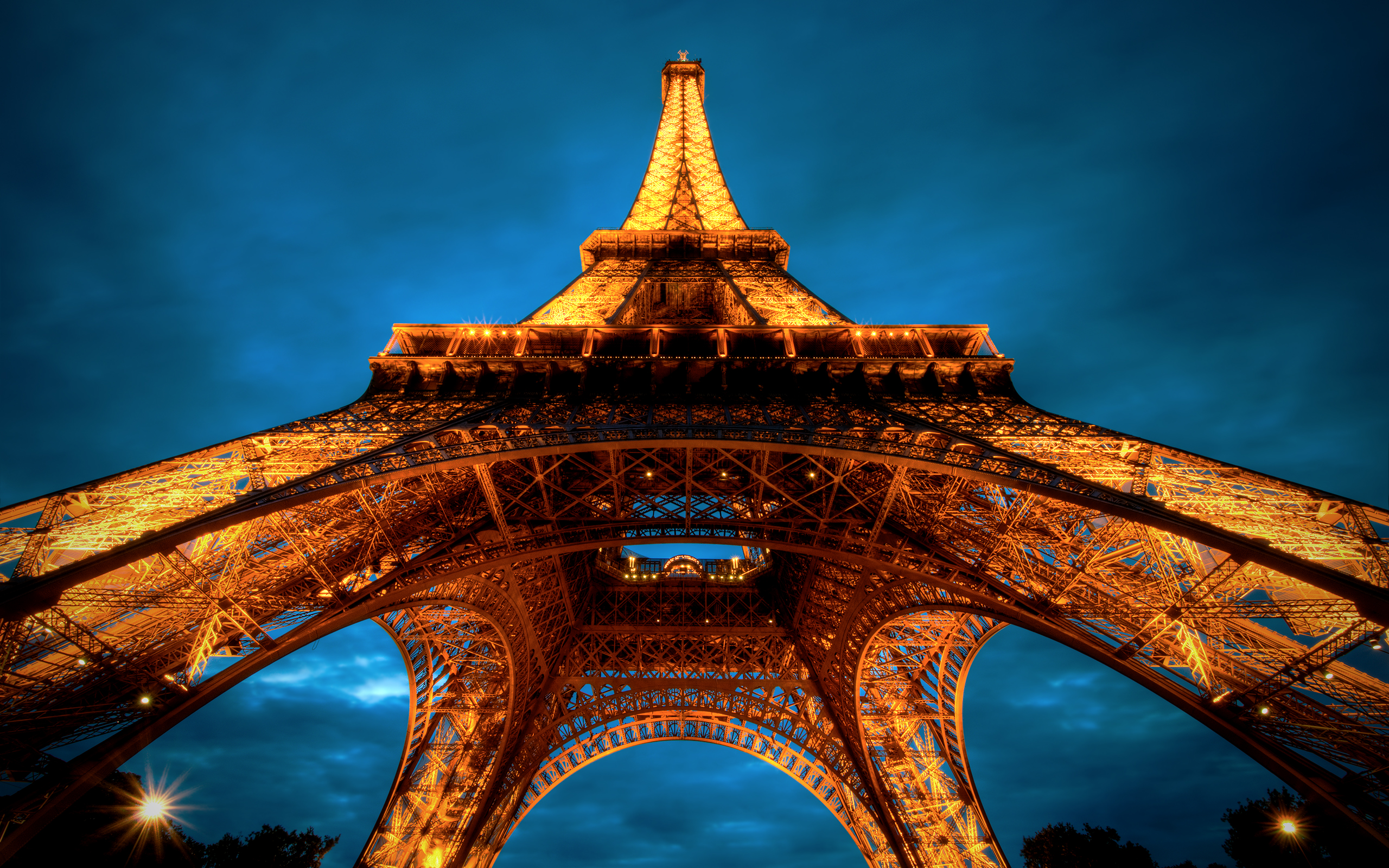 Eiffel Tower Paris HDR