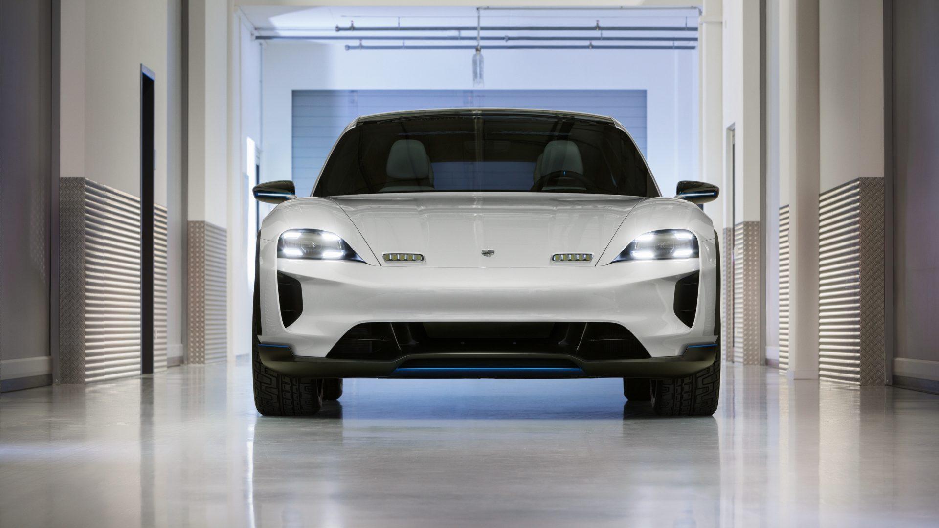 Porsche Mission E Cross Turismo 2018 4K Wallpaper Download