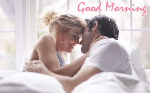 Romantic couple good morning image, hd walepaper, free wallpaper