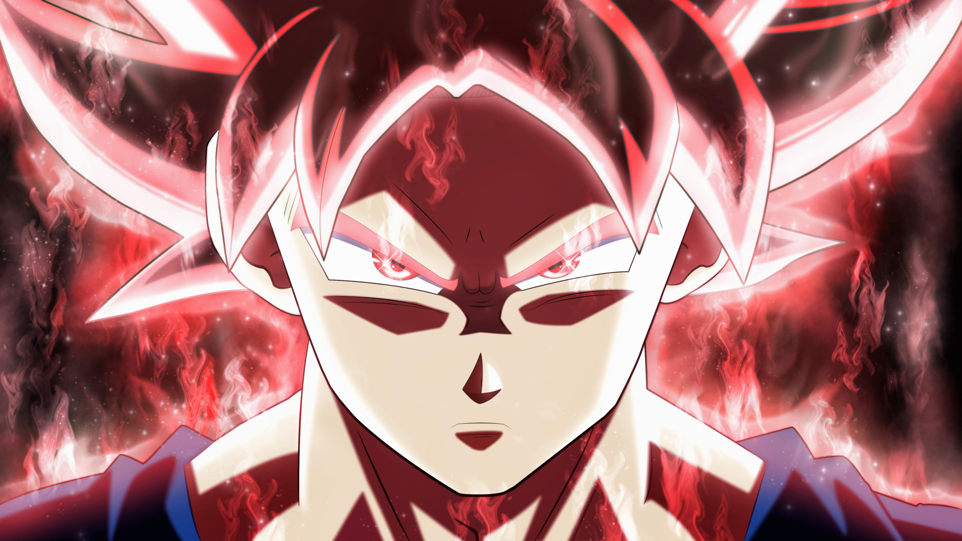 Son Goku In Dragon Ball Super 4K