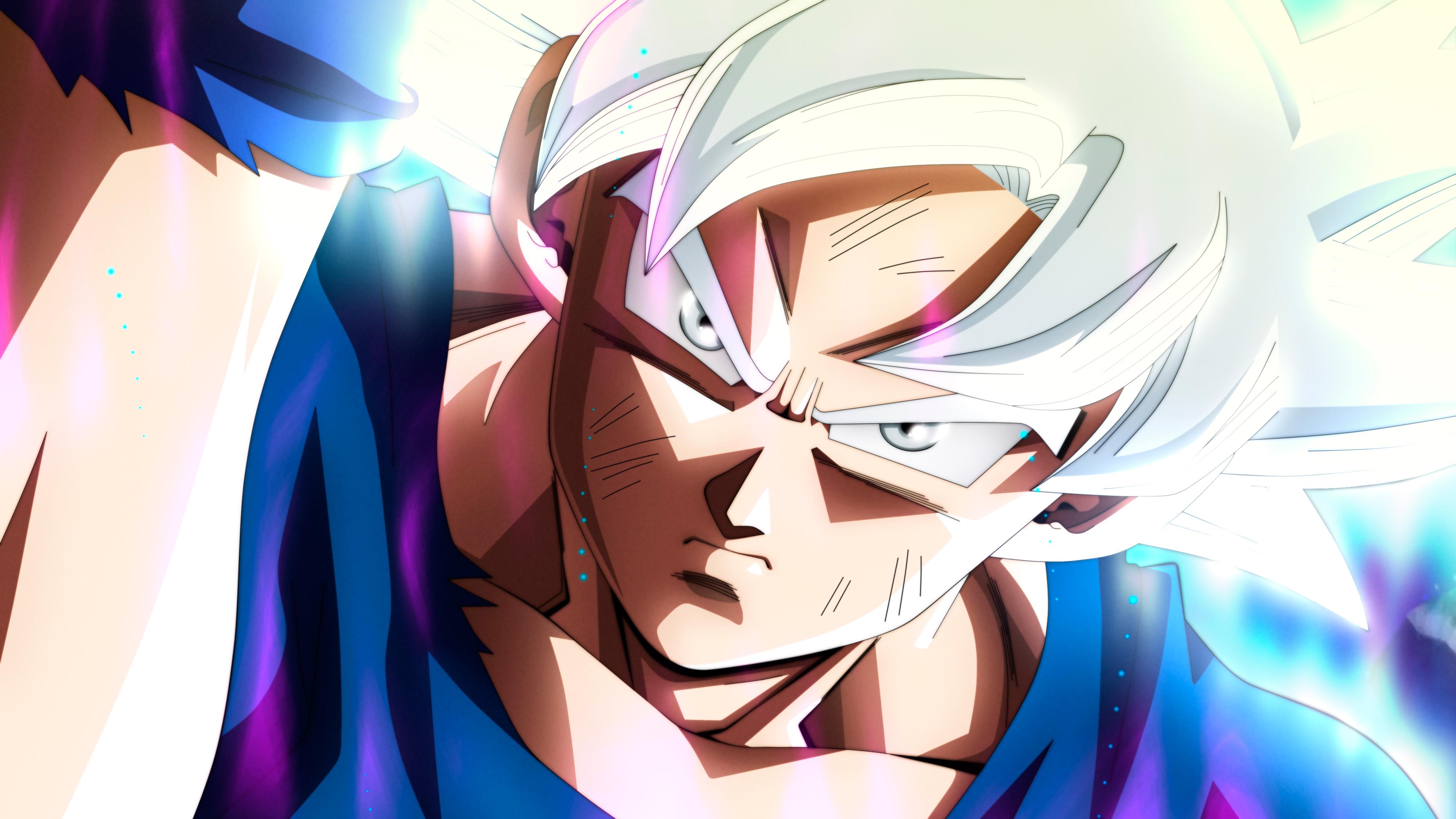 Ultra Instinct Goku Dragon Ball Super 4k Wallpaper Download