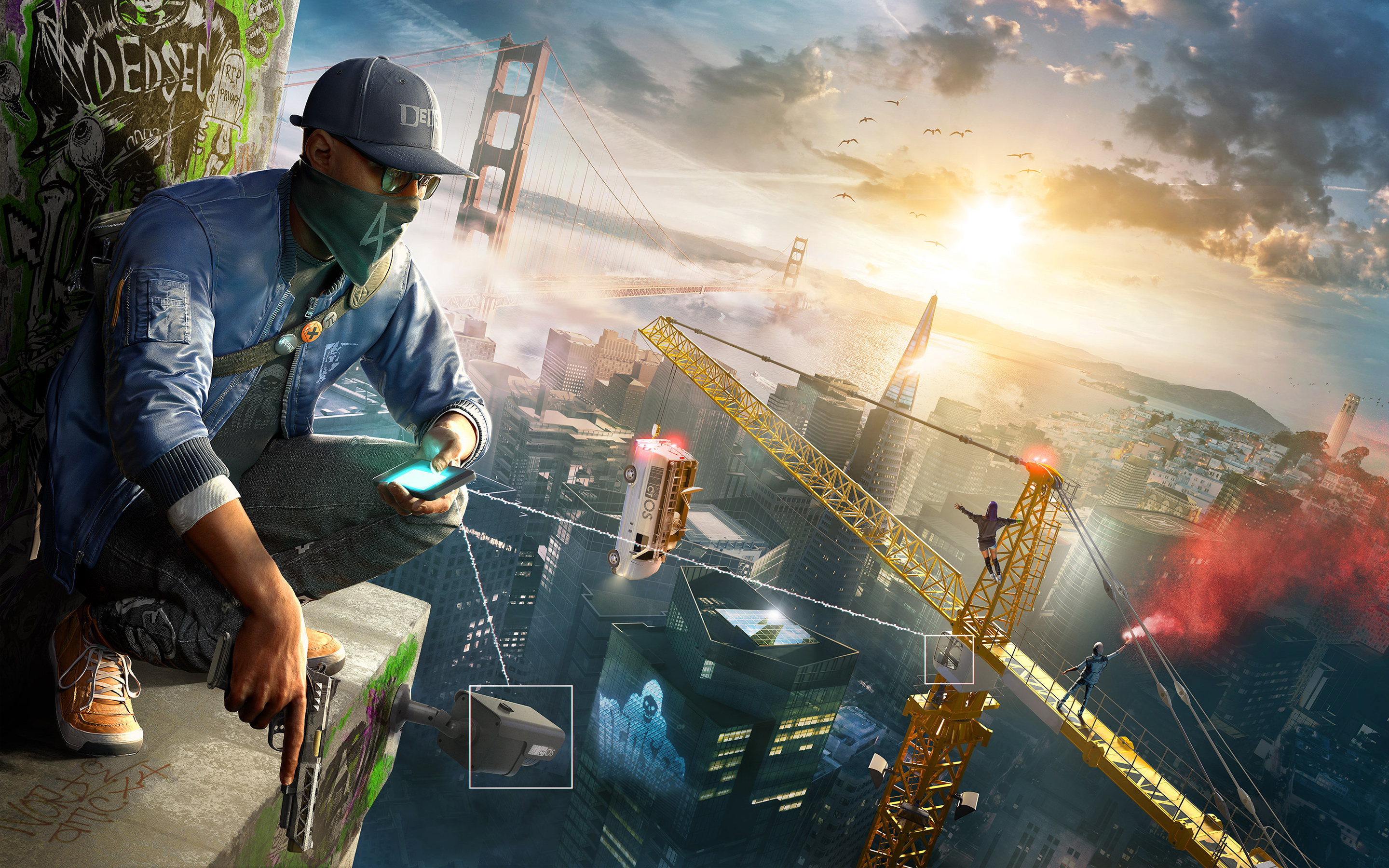 Watch Dogs 2 Game Wallpapers