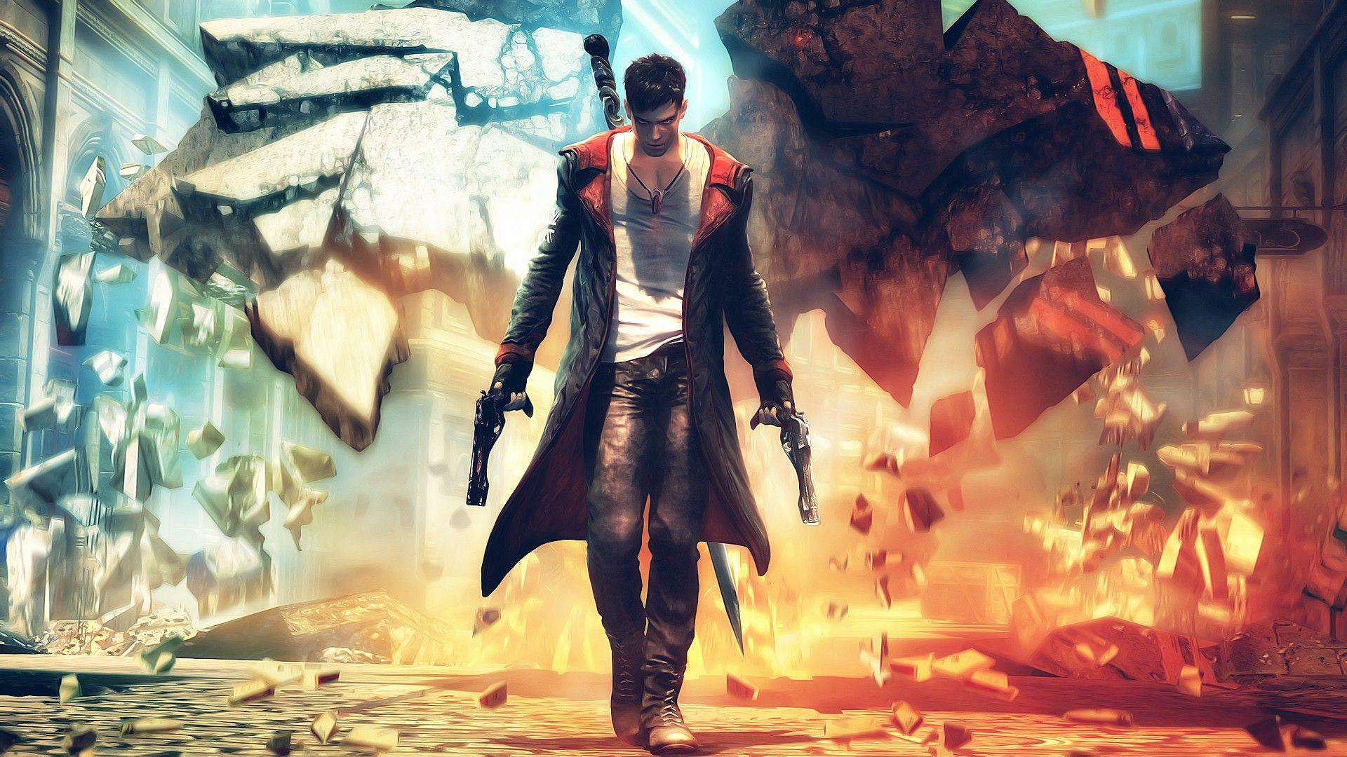 dante dmc devil may cry 1080P wallpaper, hd walepaper, free wallpaper