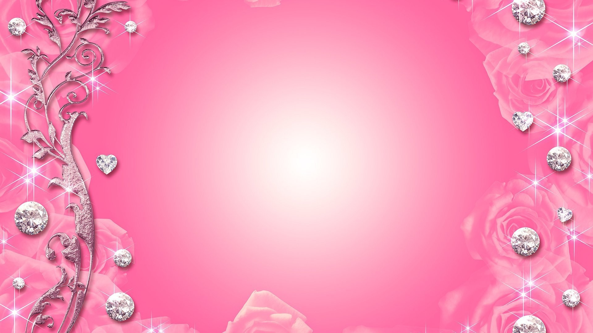 diamond Pink Wallpaper