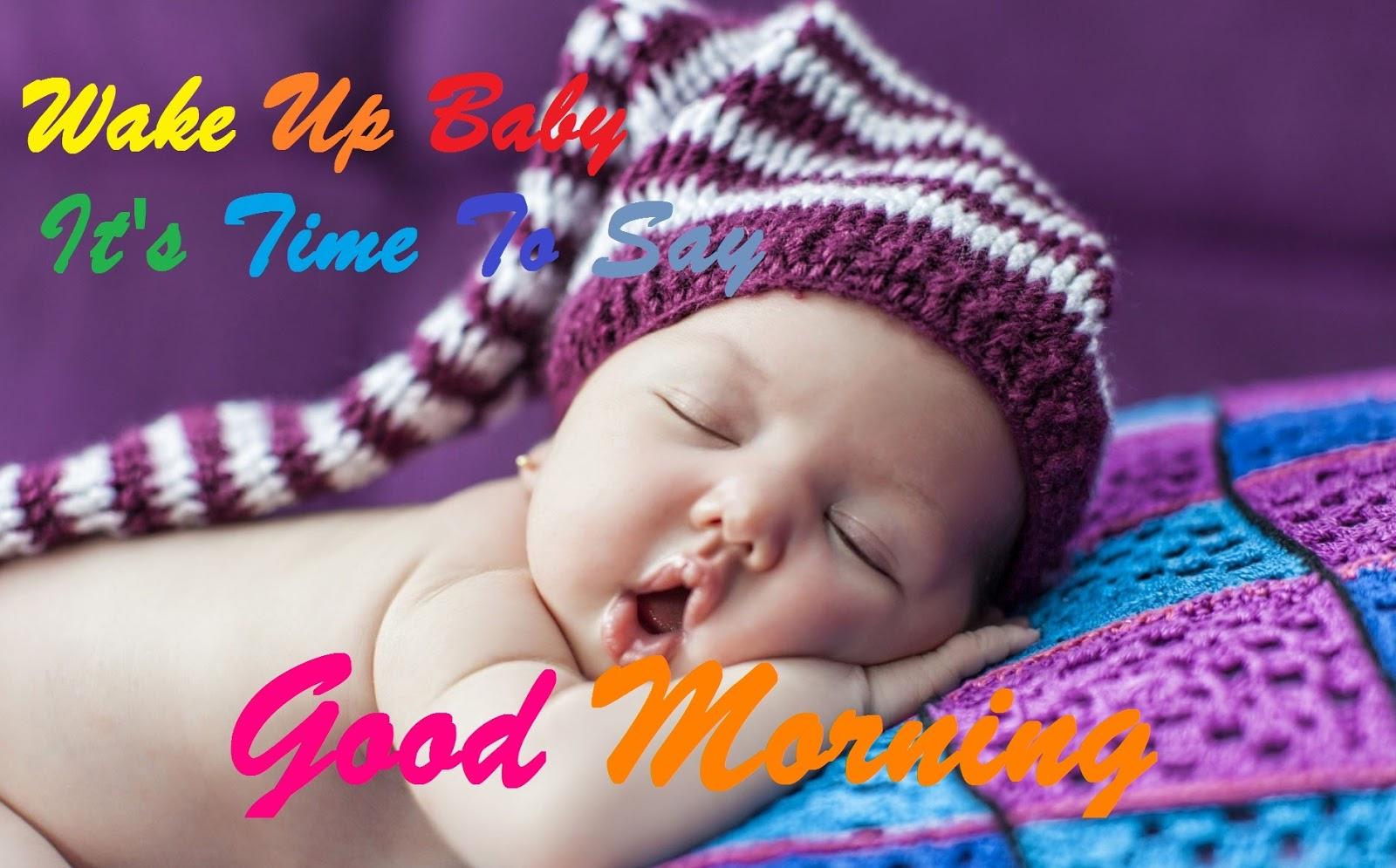 Good Morning Whatsapp Cute Baby Wallpaper Download High Resolution 4k Wallpaper