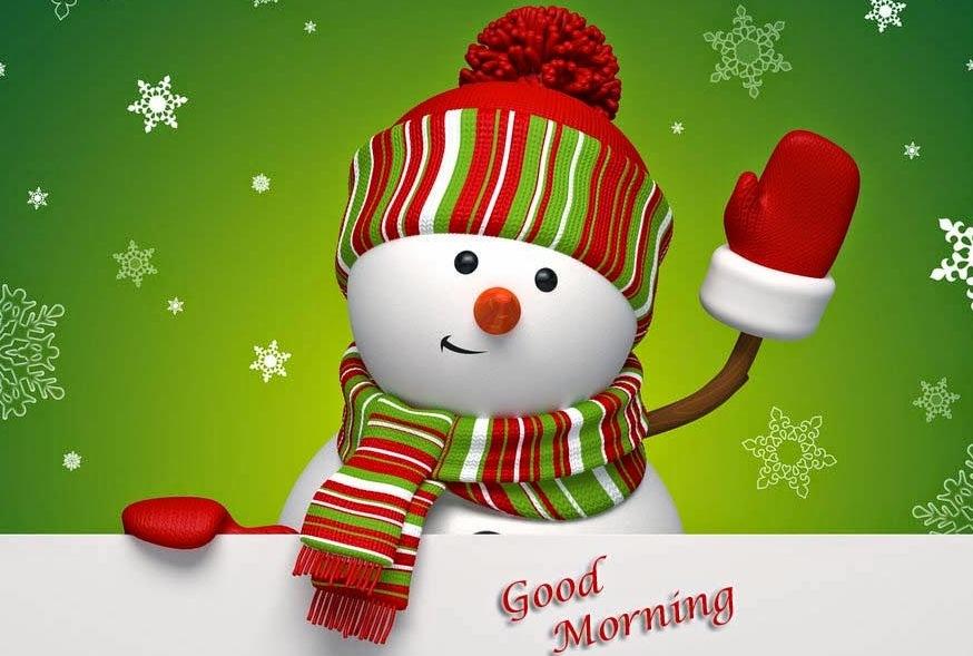 winter snowman green hd