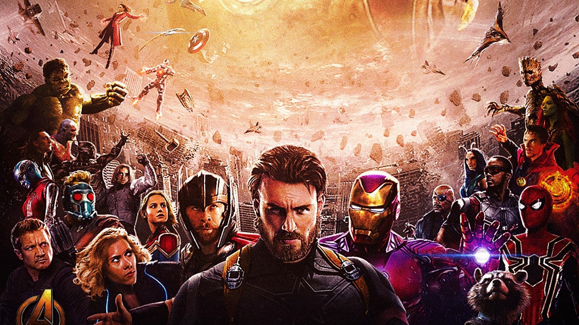 4k Avengers infinity war 2018