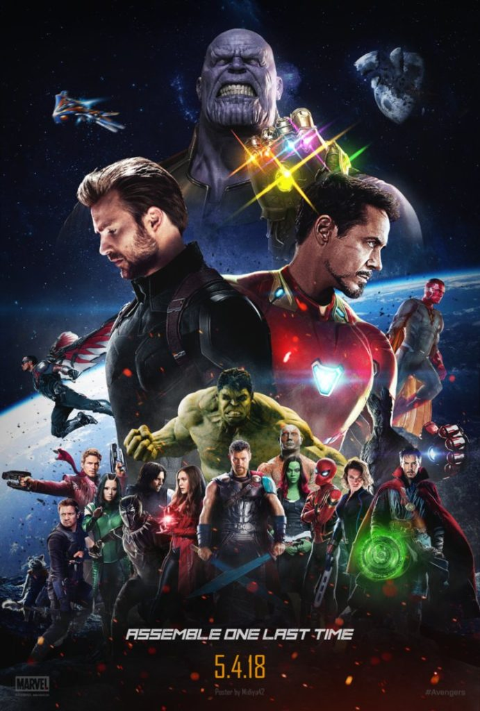 Avenger Infinity War Theatrical Poster HD