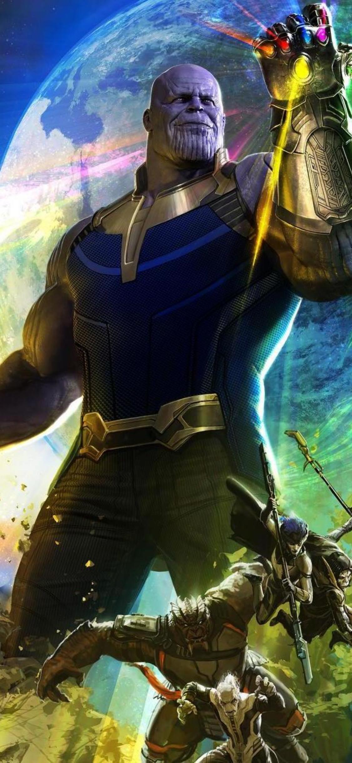 Avengers Infinity War 2018 4k Iphone X