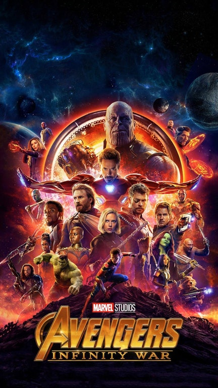 Avengers Infinity War ios android