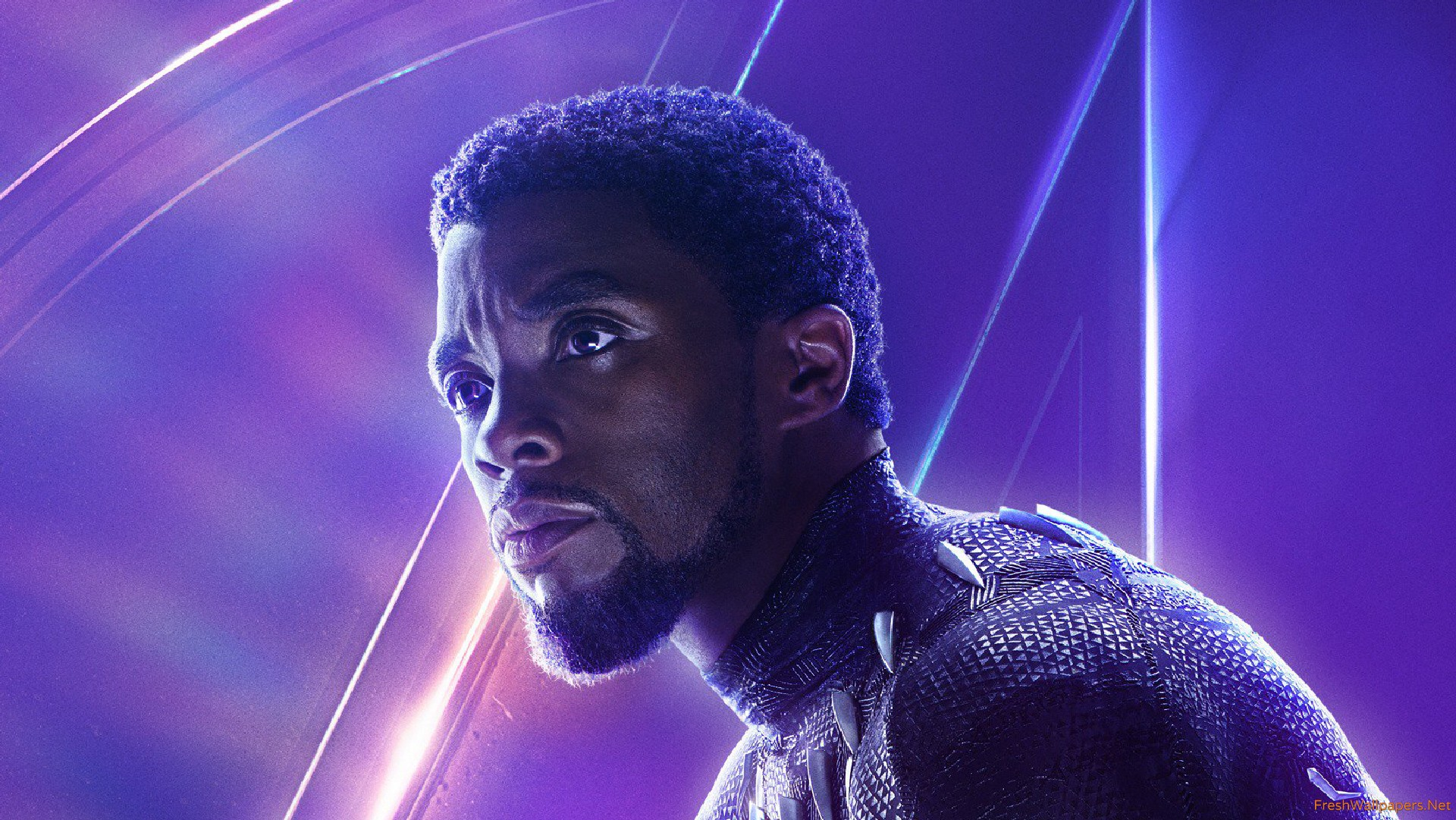 Black Panther In Avengers Infinity War New Poster Wallpaper Download