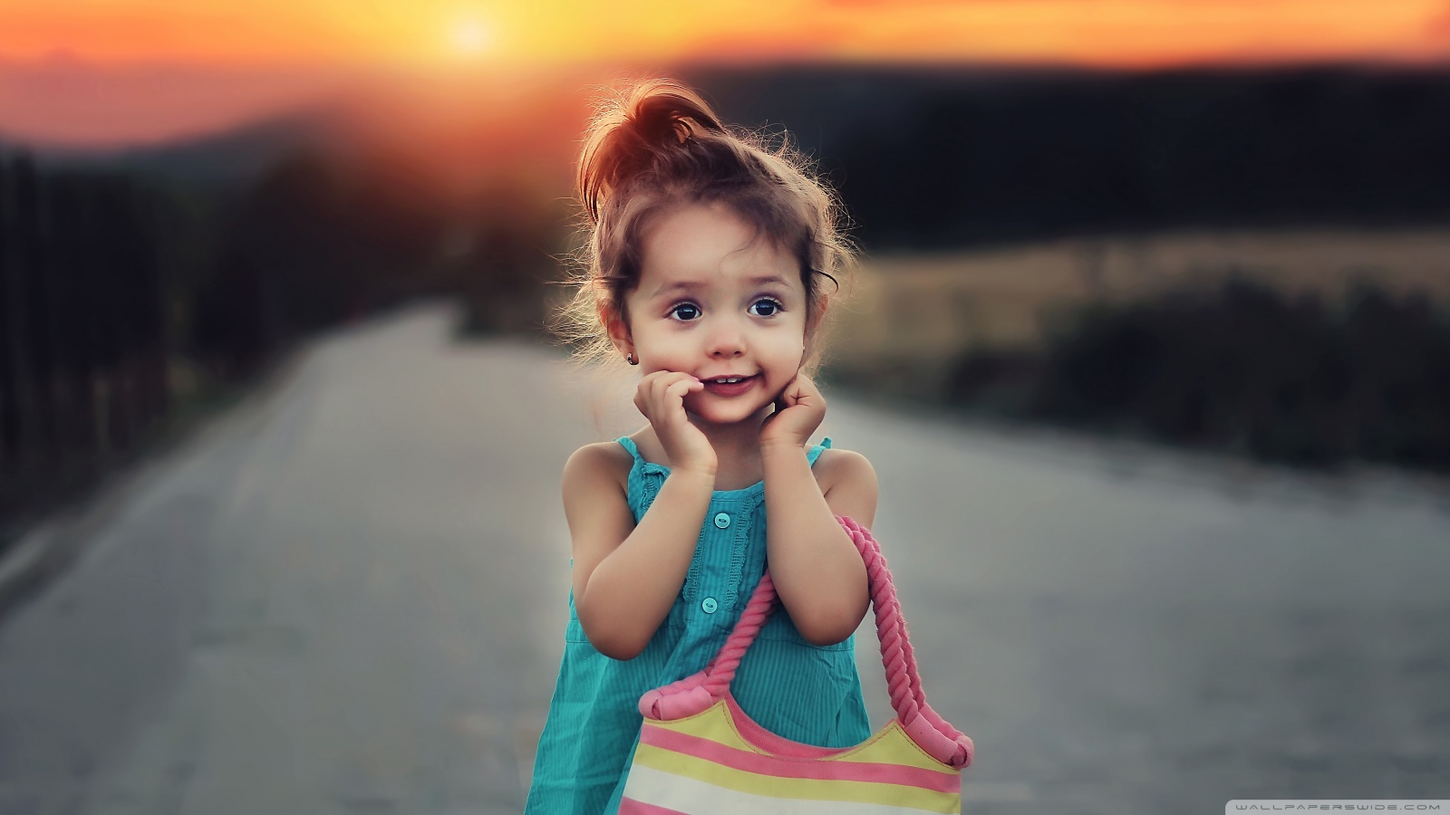 Cute Stylish Child Girl