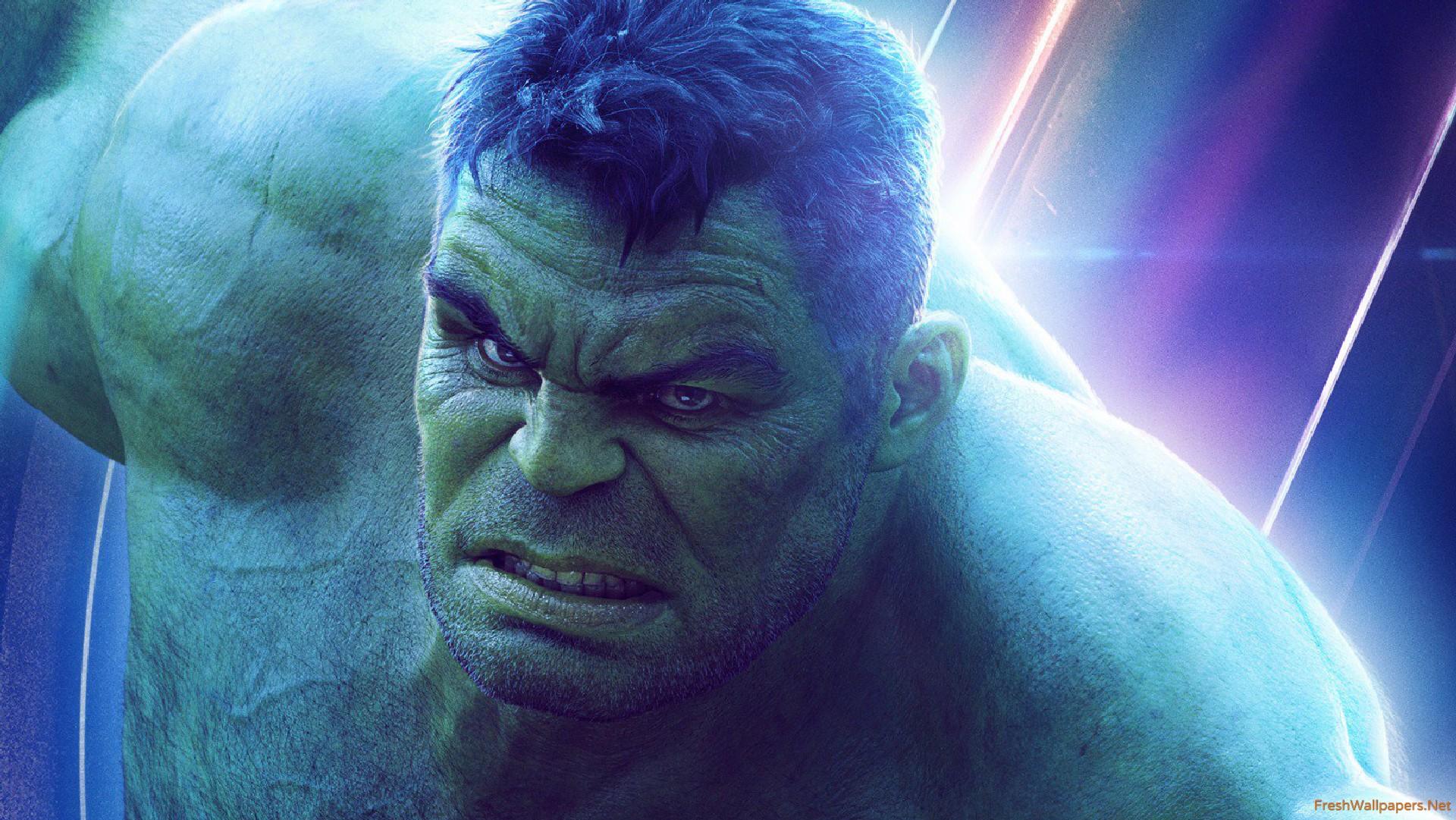 Hulk In Avengers Infinity War New Poster