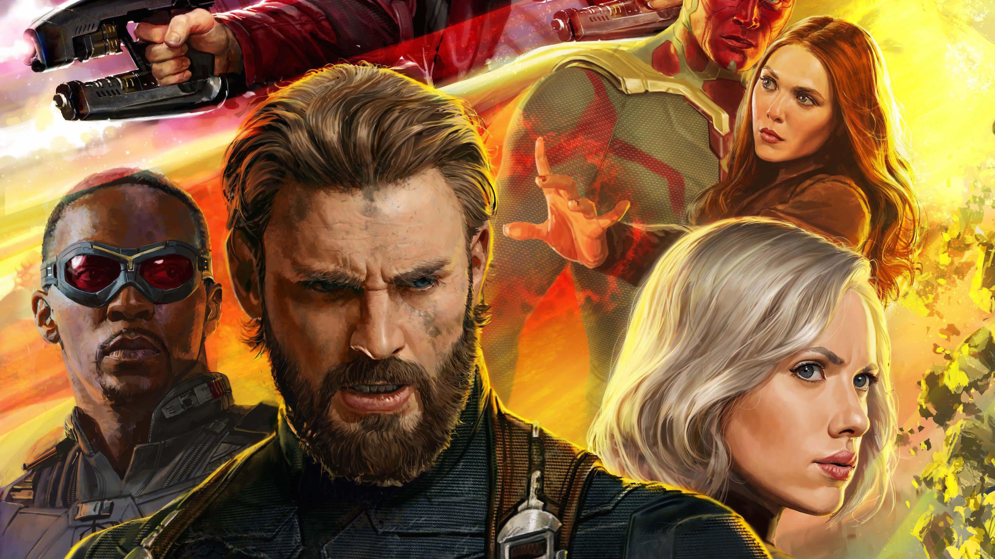 Infinity War 2018 4K Ultra HD