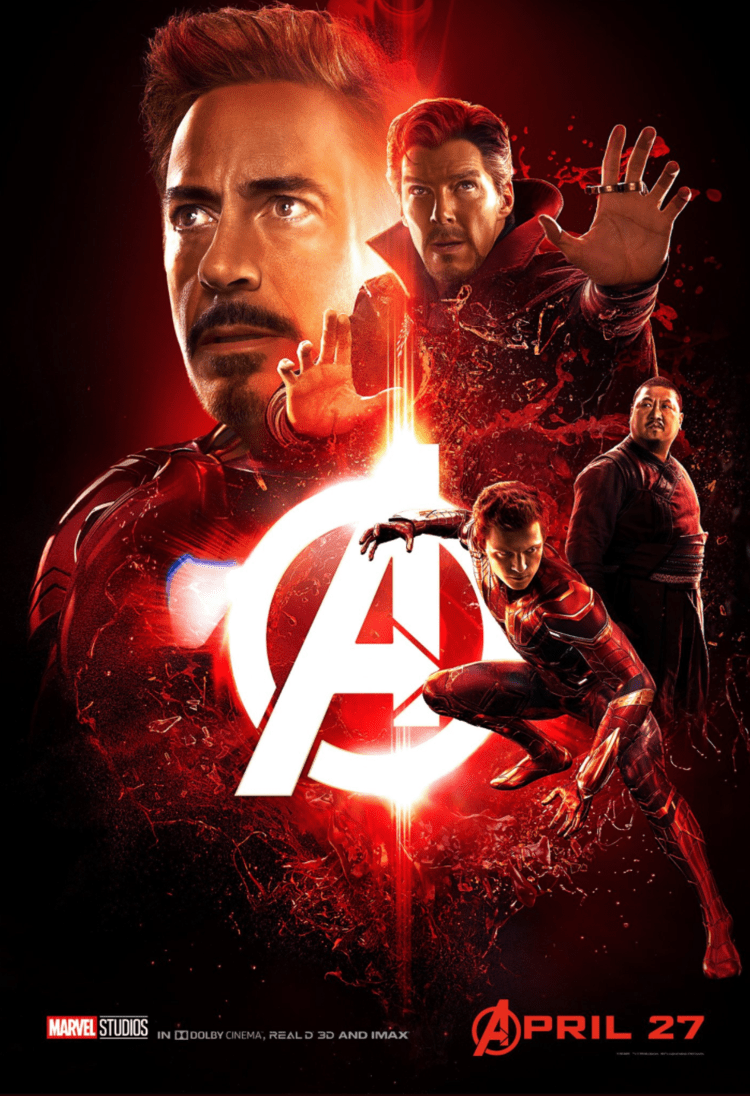 Infinity War Character Posters