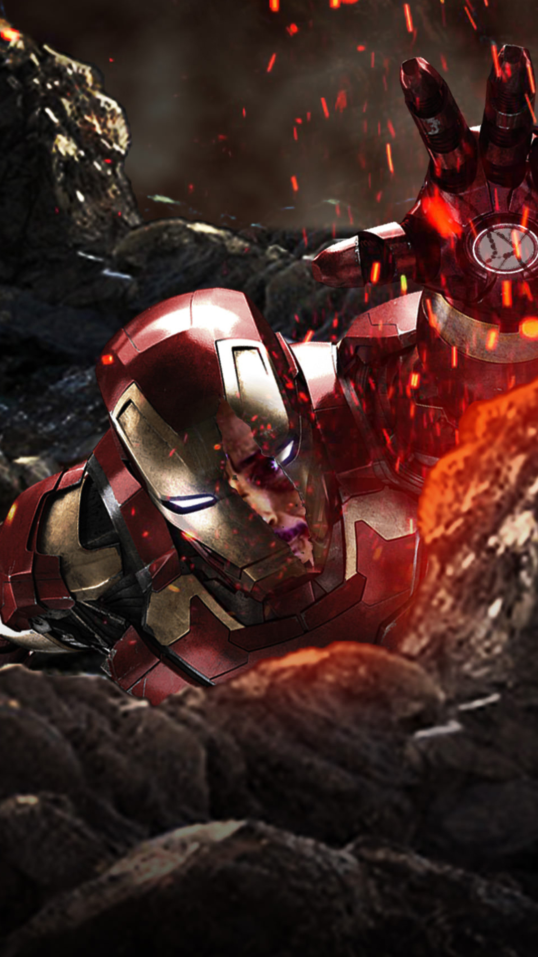 Iron Man In Avengers Infinity War Iphone mobile 4k