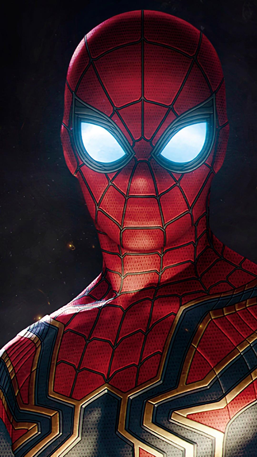 Spider Man in Avengers Infinity War 4K