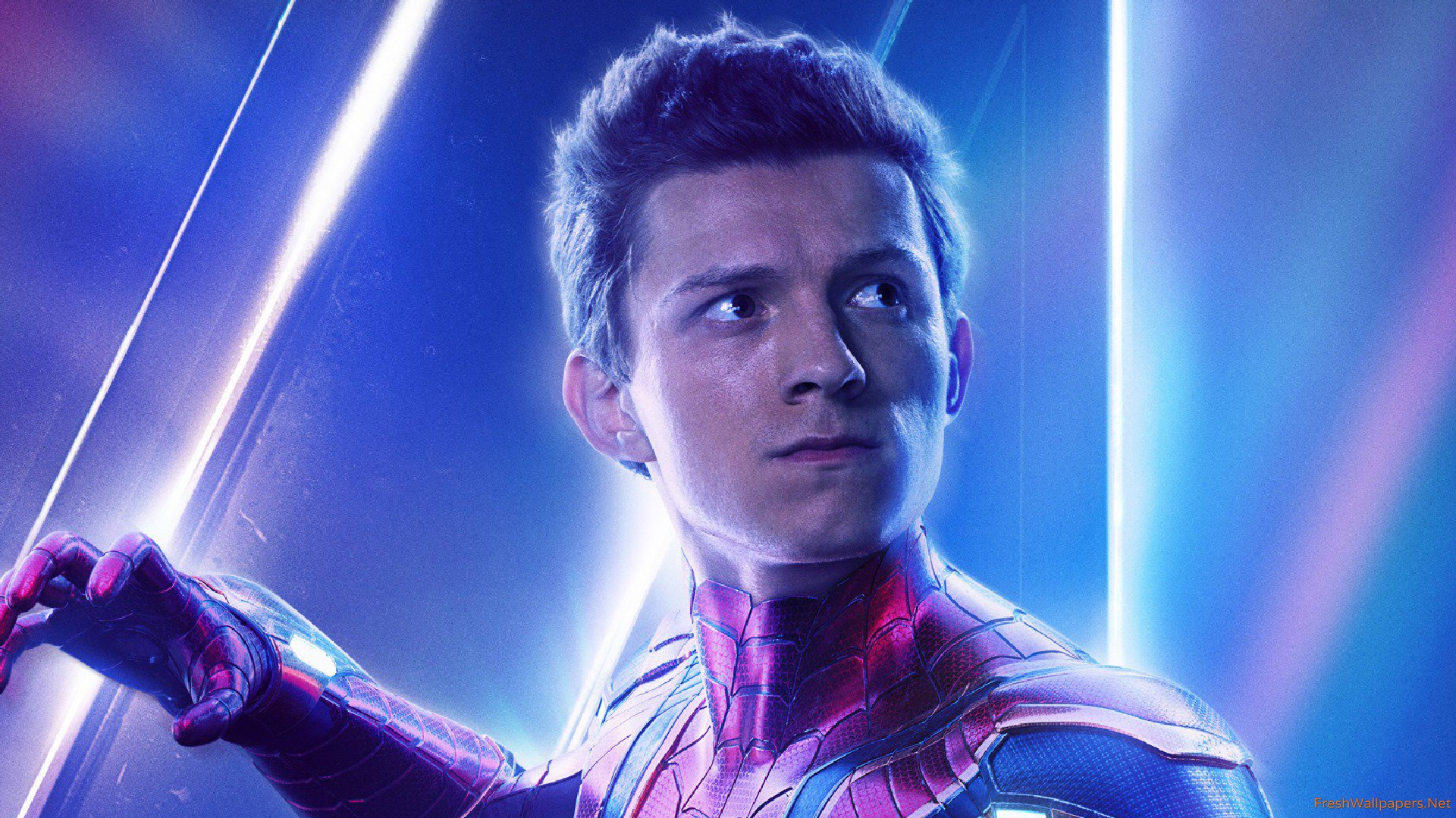Spiderman In Avengers Infinity War New Poster