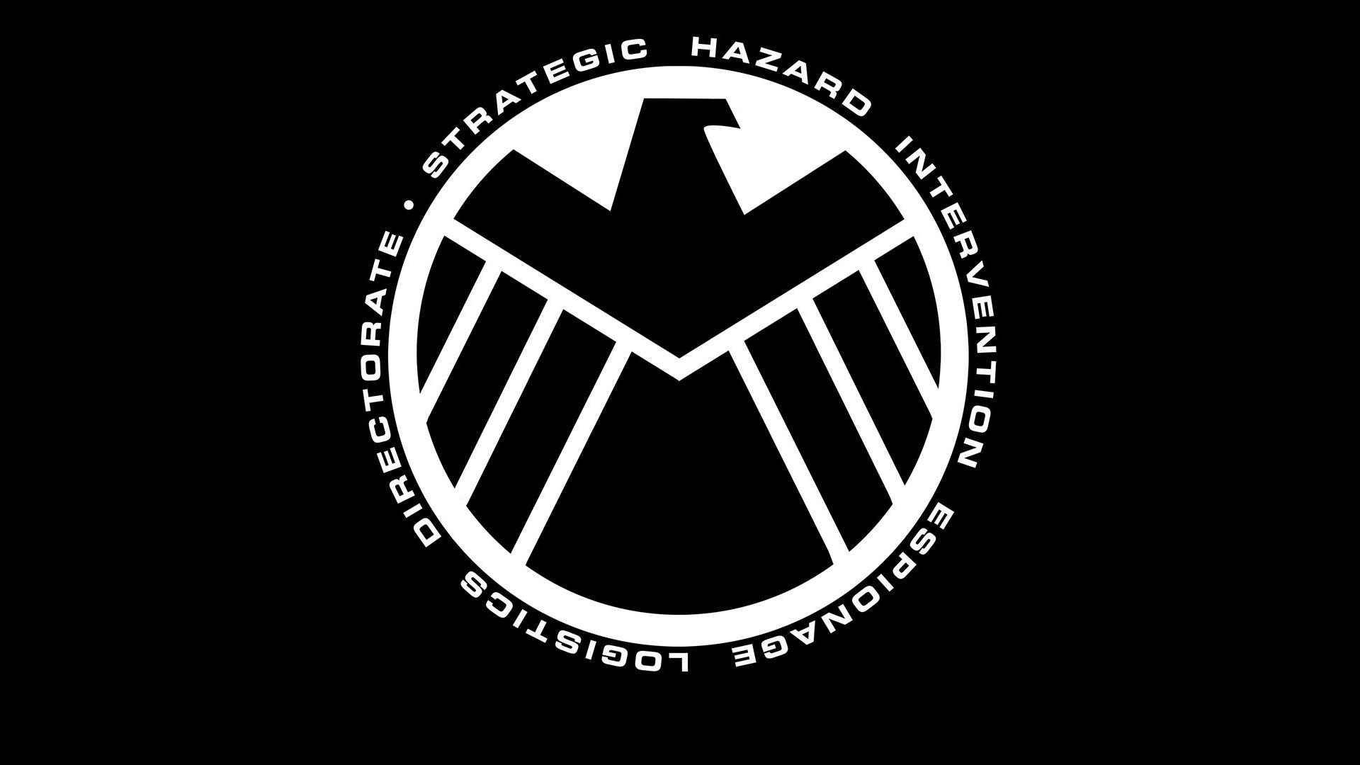 The Avengers Shield Logo HD 4K