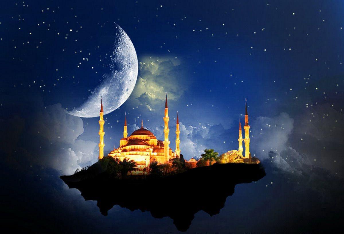 floral 3d mosque image