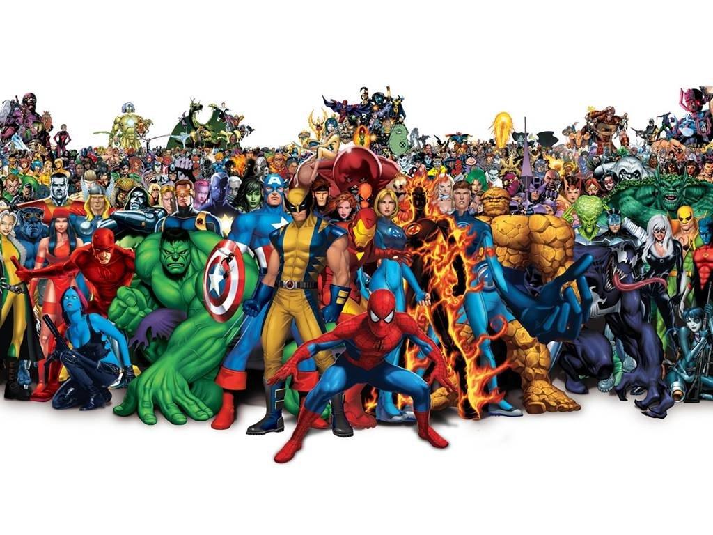 Marvel Comics Background Image