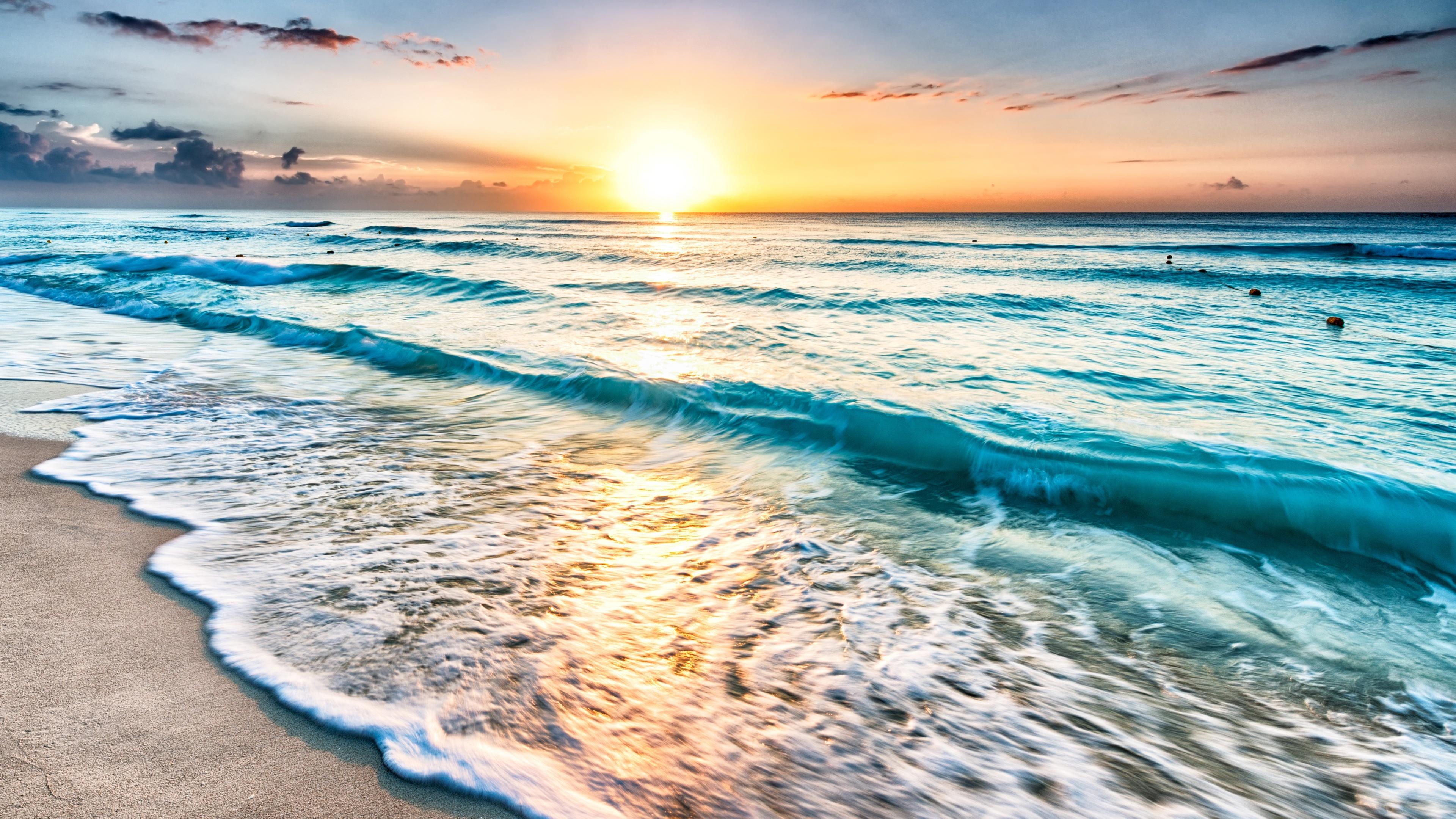Newest 4K cancun beach