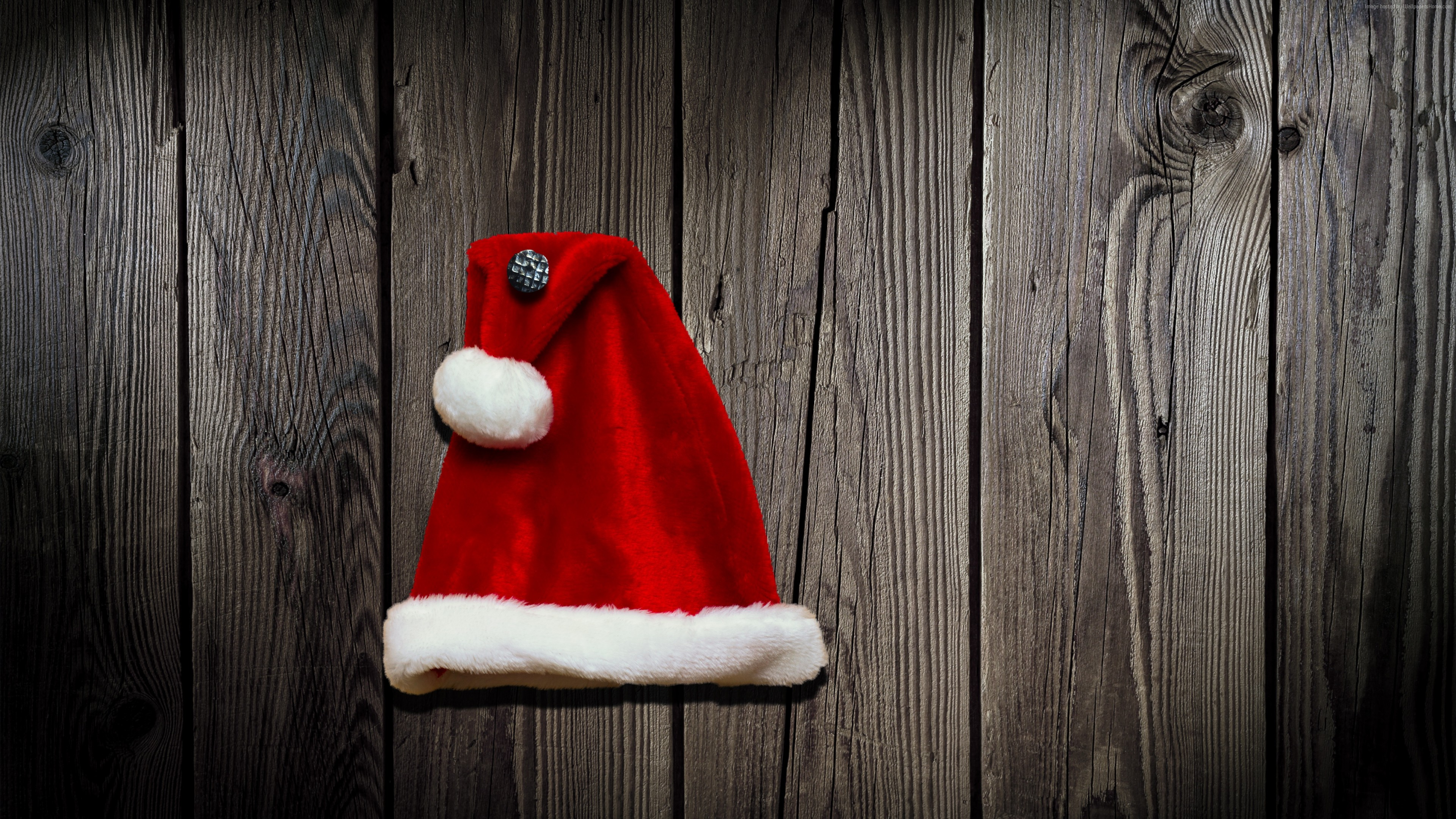 Stock Images Christmas, New Year, cap, 4k, Stock Images