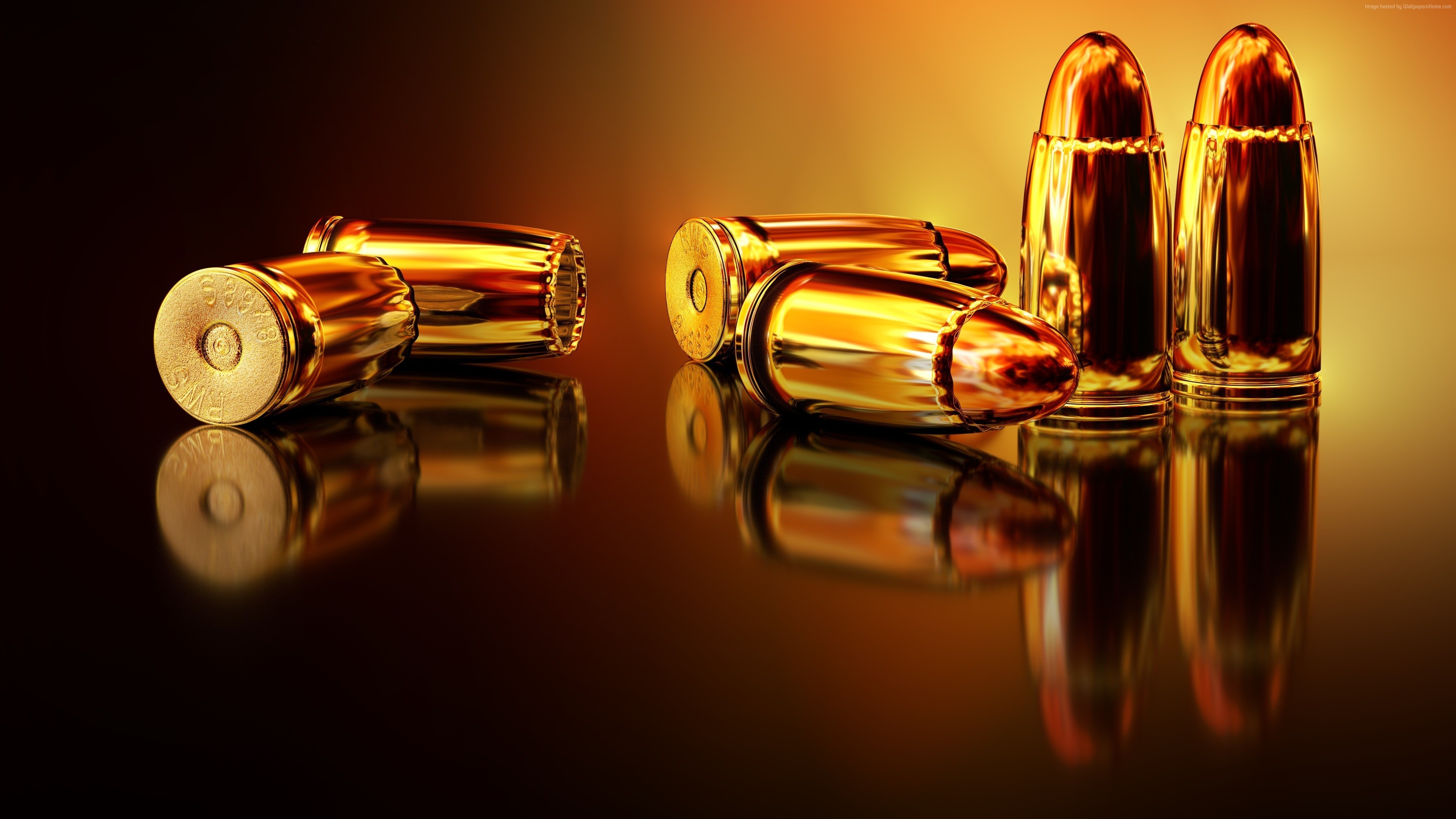 Stock Images bullets, 4k, Stock Images