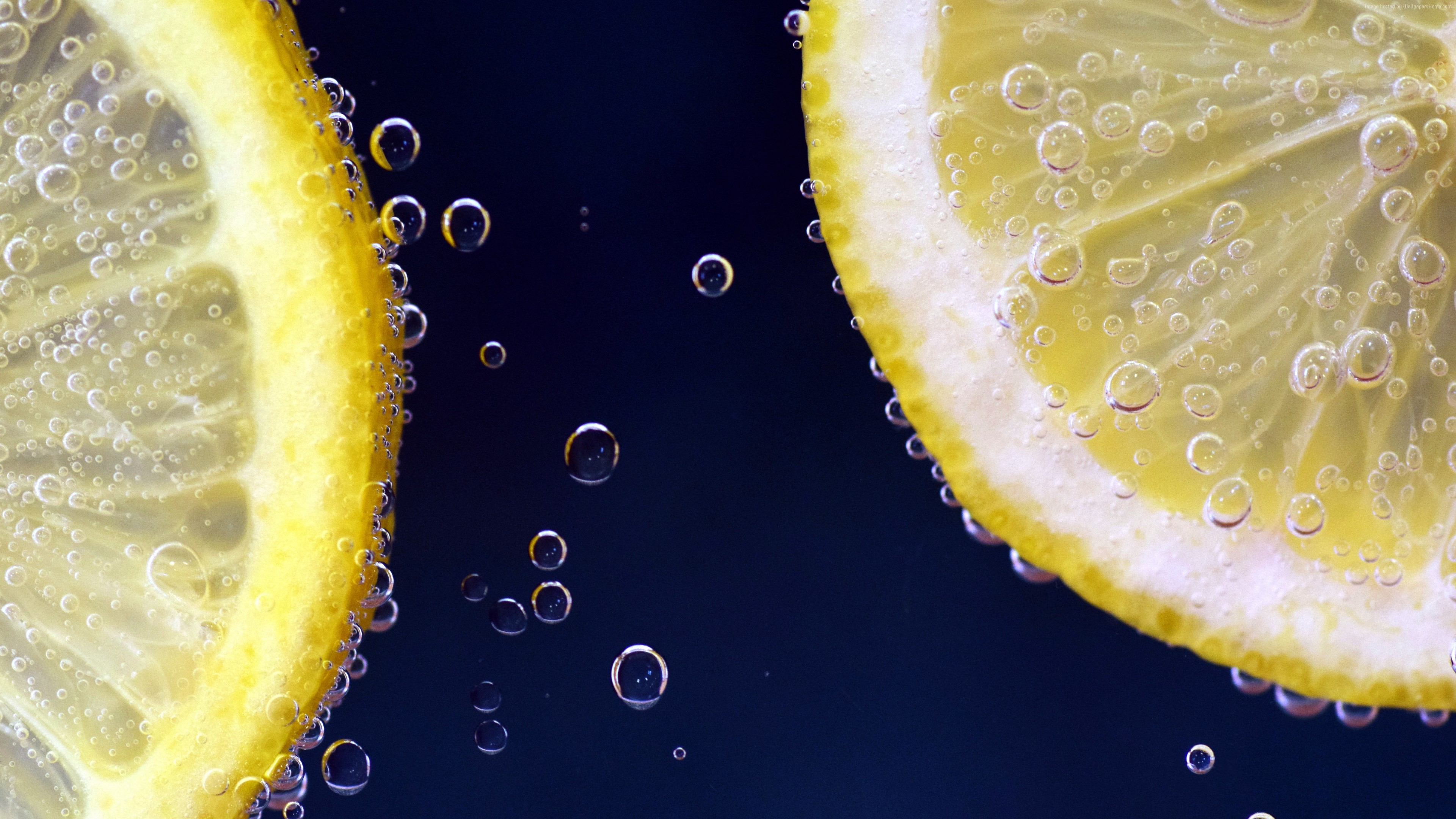 Stock Images lemon, under water, 6k, Stock Images