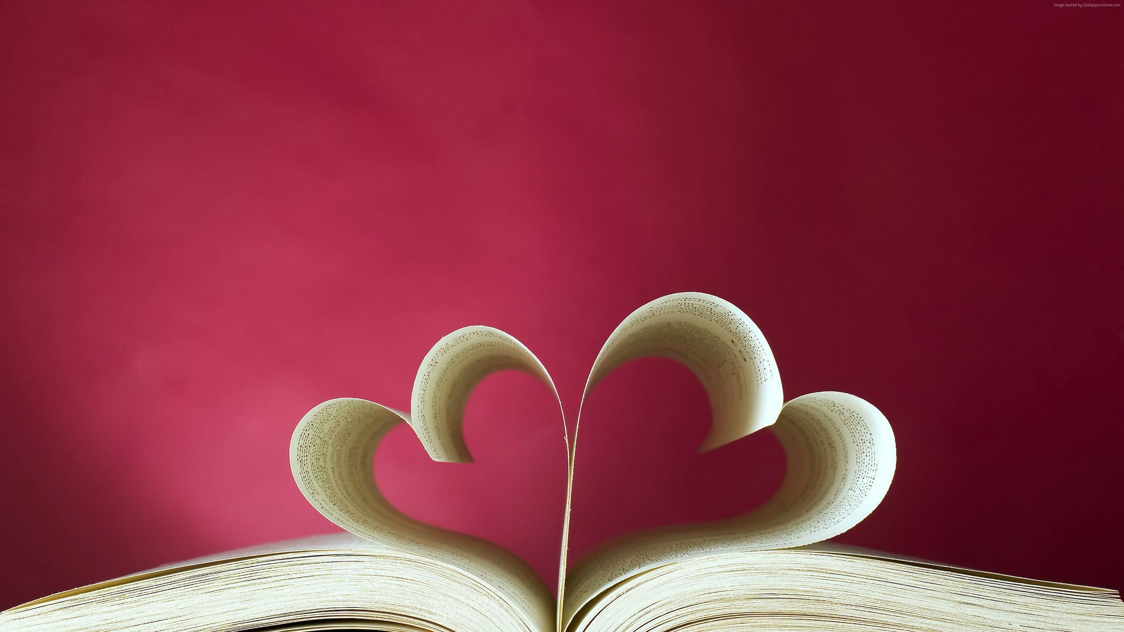 Stock Images love image, heart, book, 5k, Stock Images