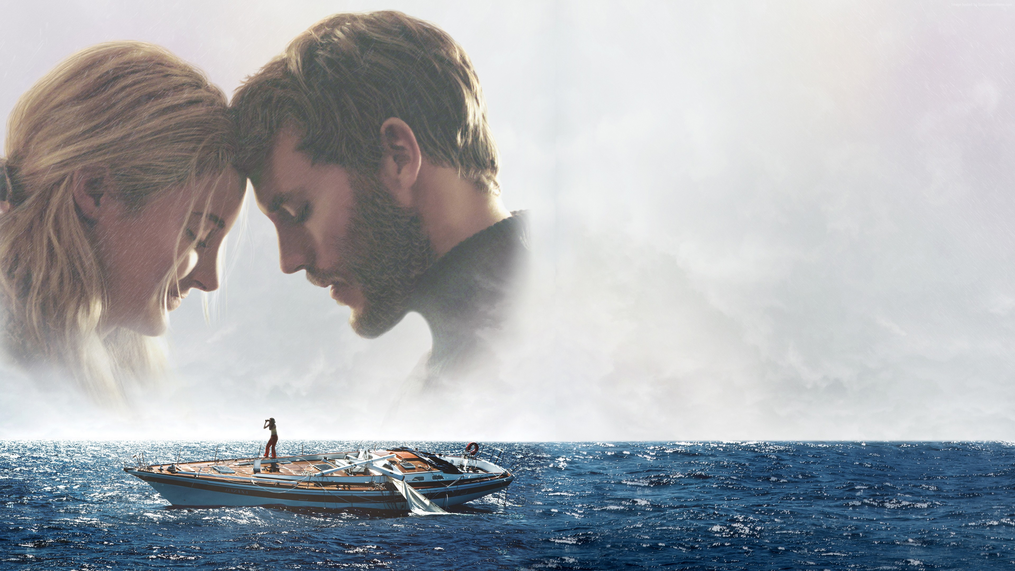 Wallpaper Adrift, Shailene Woodley, Sam Claflin, 4K, 6K, Movies