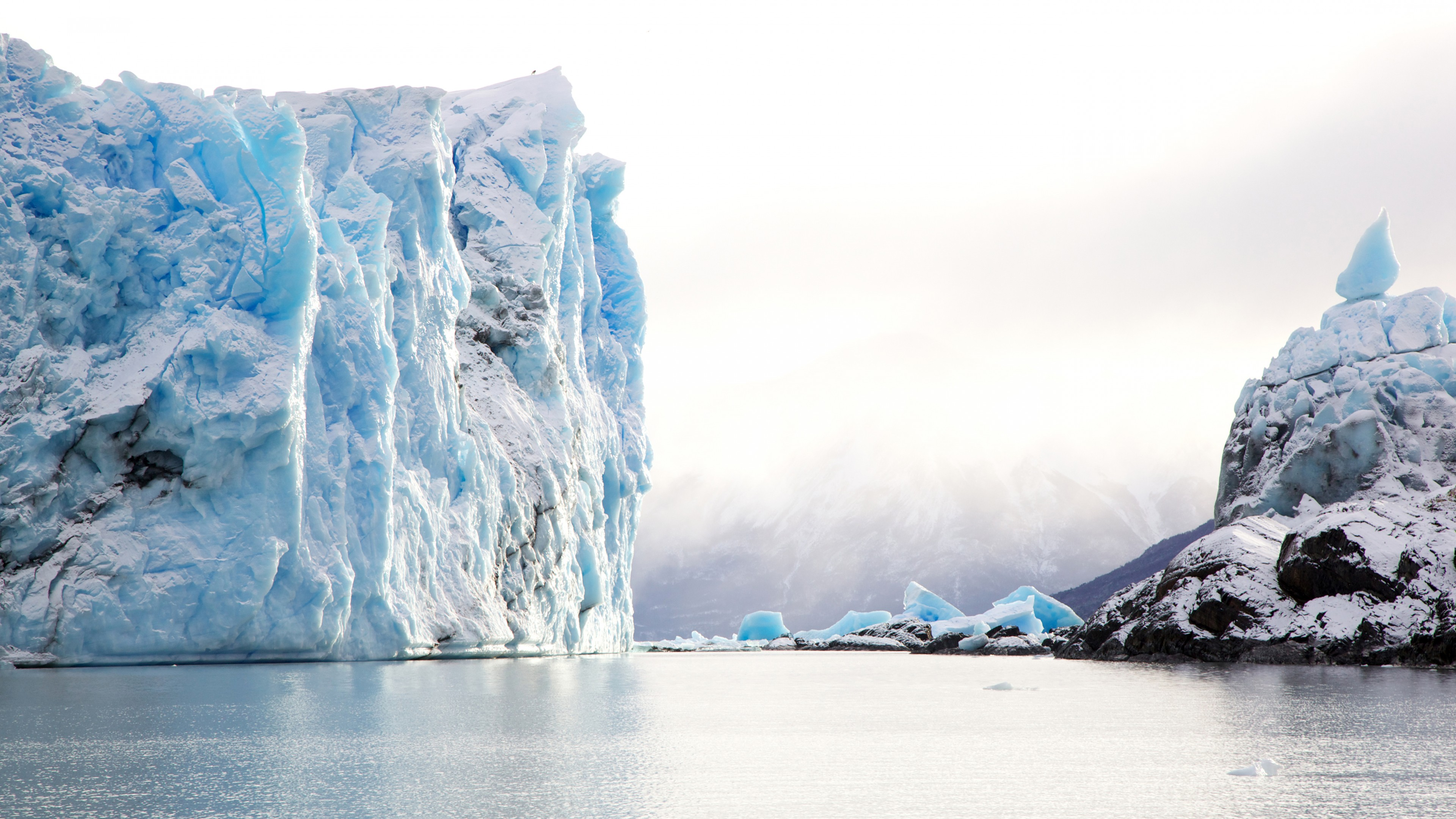 Wallpaper Antarctica, iceberg, ocean, 5k, Nature
