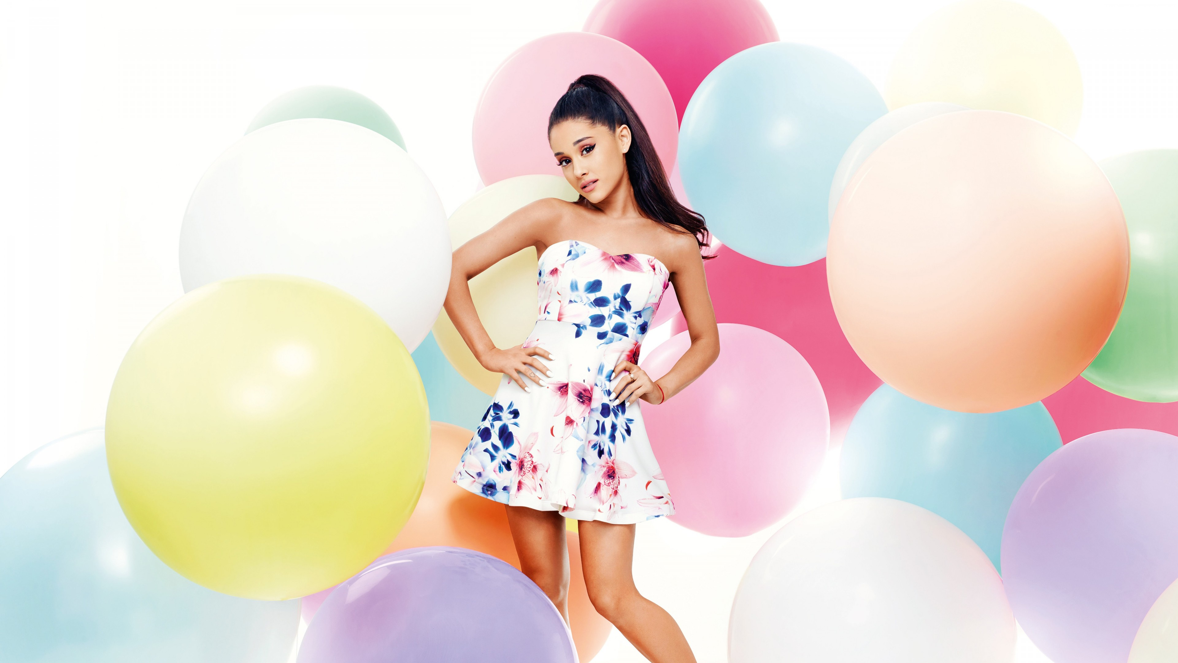 Wallpaper Ariana Grande, Top music artist and bands, singer, actress, Music