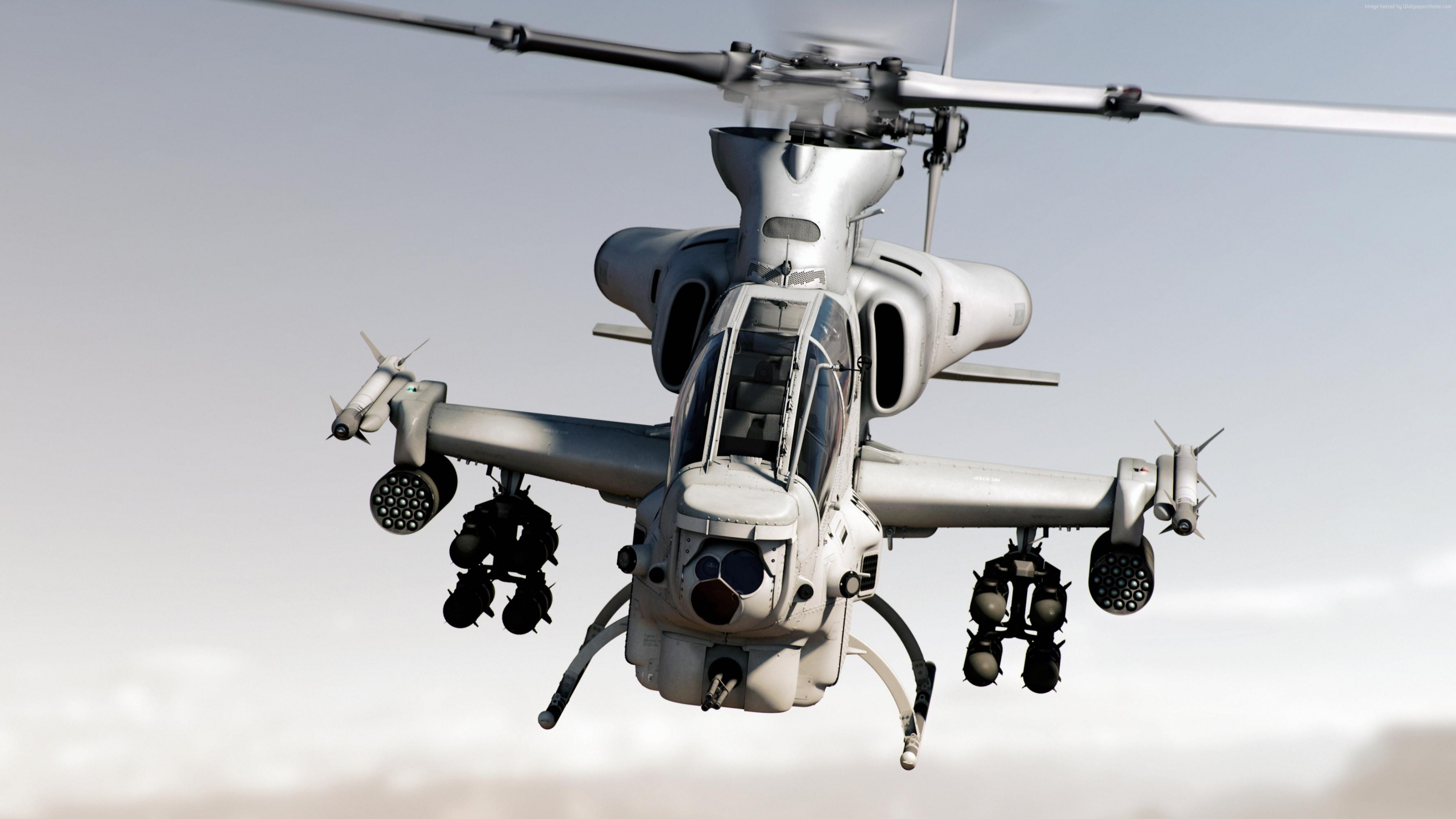 Wallpaper Bell AH-1Z Viper, attack helicopter, U.S. Army, U.S. Air Force, Zulu Cobra, Military