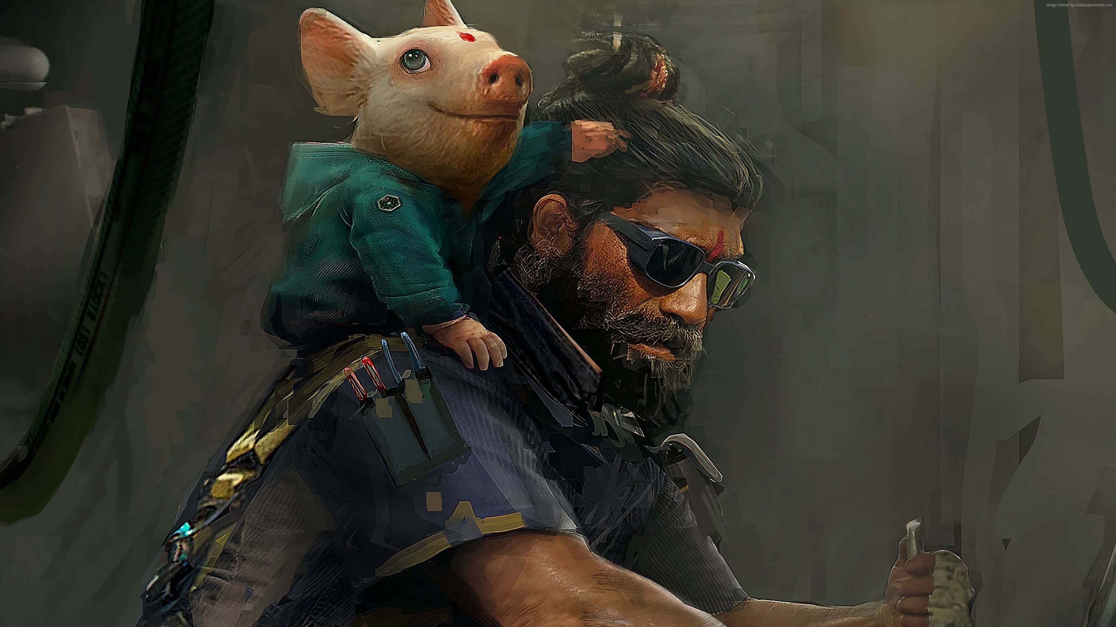 Wallpaper Beyond Good and Evil 2, E3 2018, artwork, poster, 4K, Games