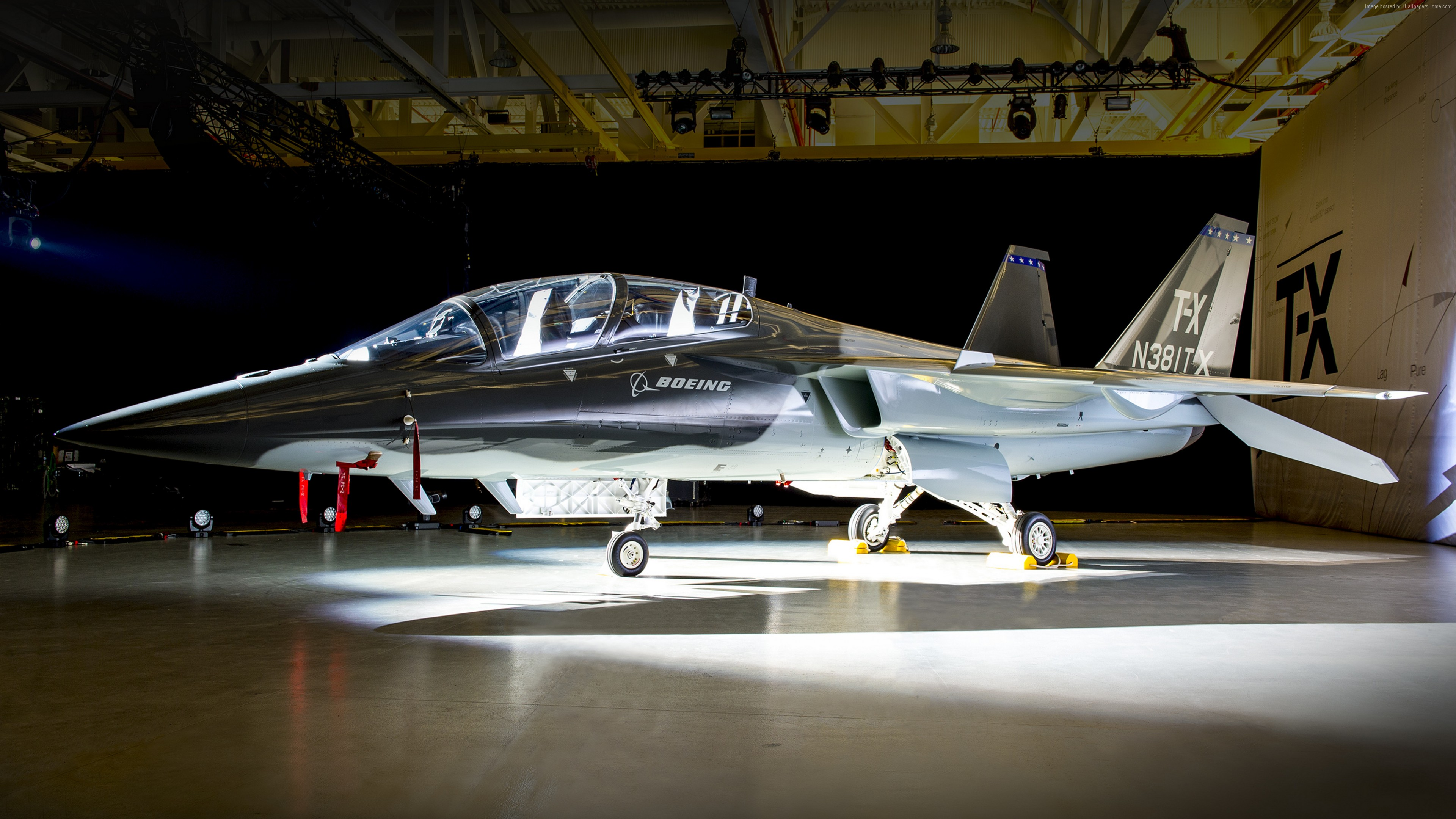 Wallpaper Boeing T-X, fighter aircraft, U.S. Air Force, Military