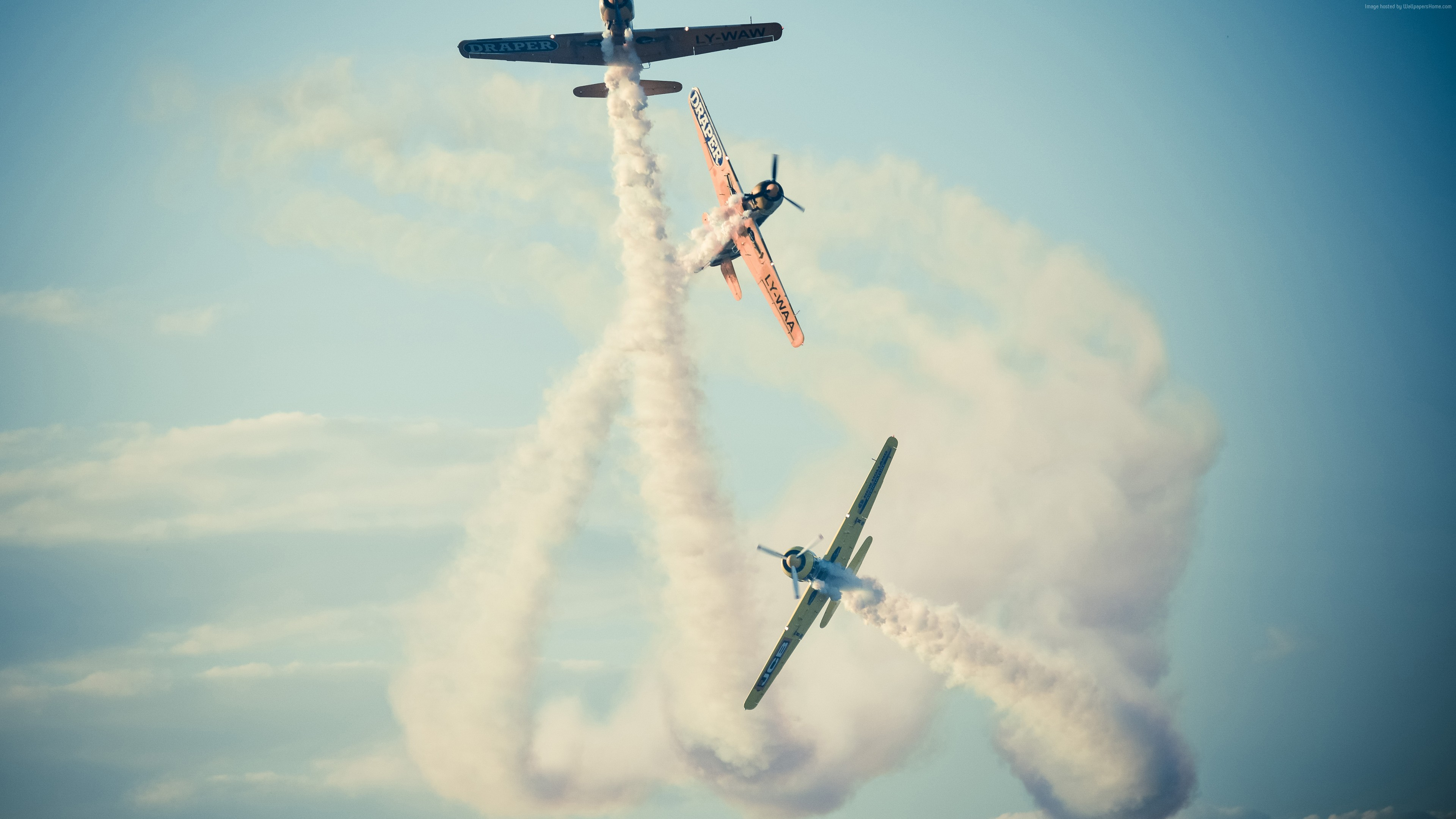 Wallpaper Bucharest airshow, 4k, 5k wallpaper, 2015 Sony World Photography Awards, sky, clouds, planes, Military