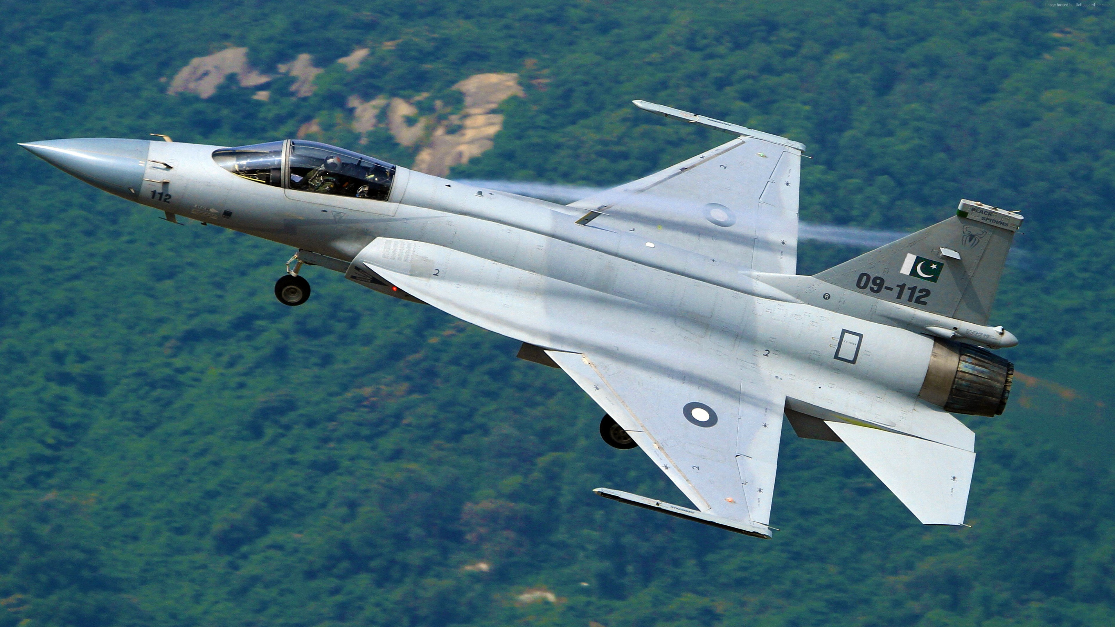 Wallpaper Chengdu JF-17, fighter aircraft, China air force, Pakistan Air Force, Military