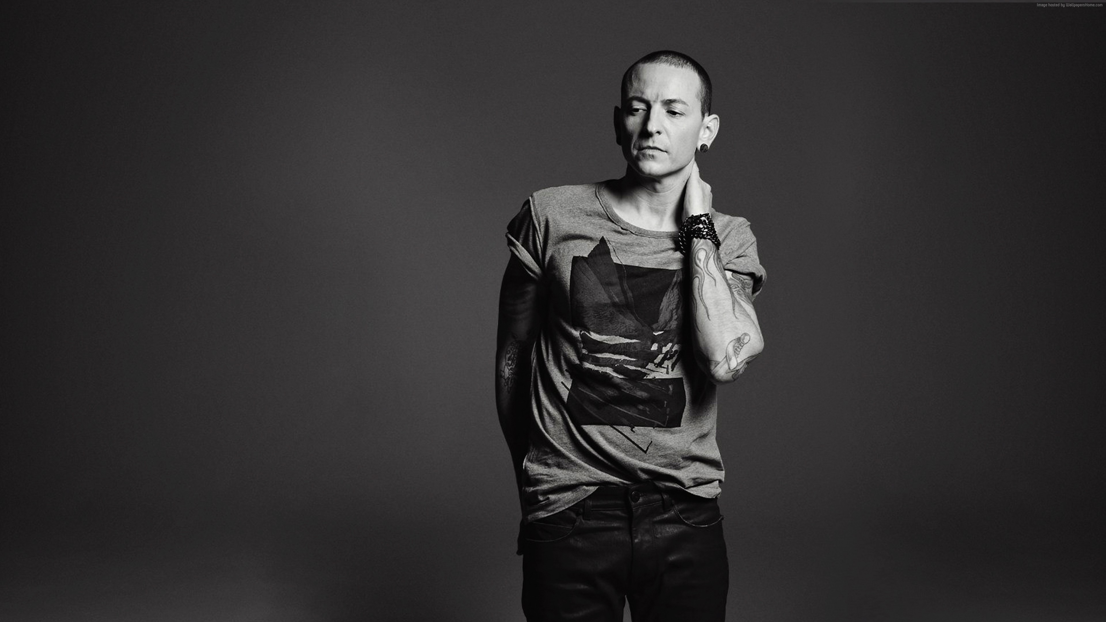 Wallpaper Chester Bennington, photo, 5k, Music