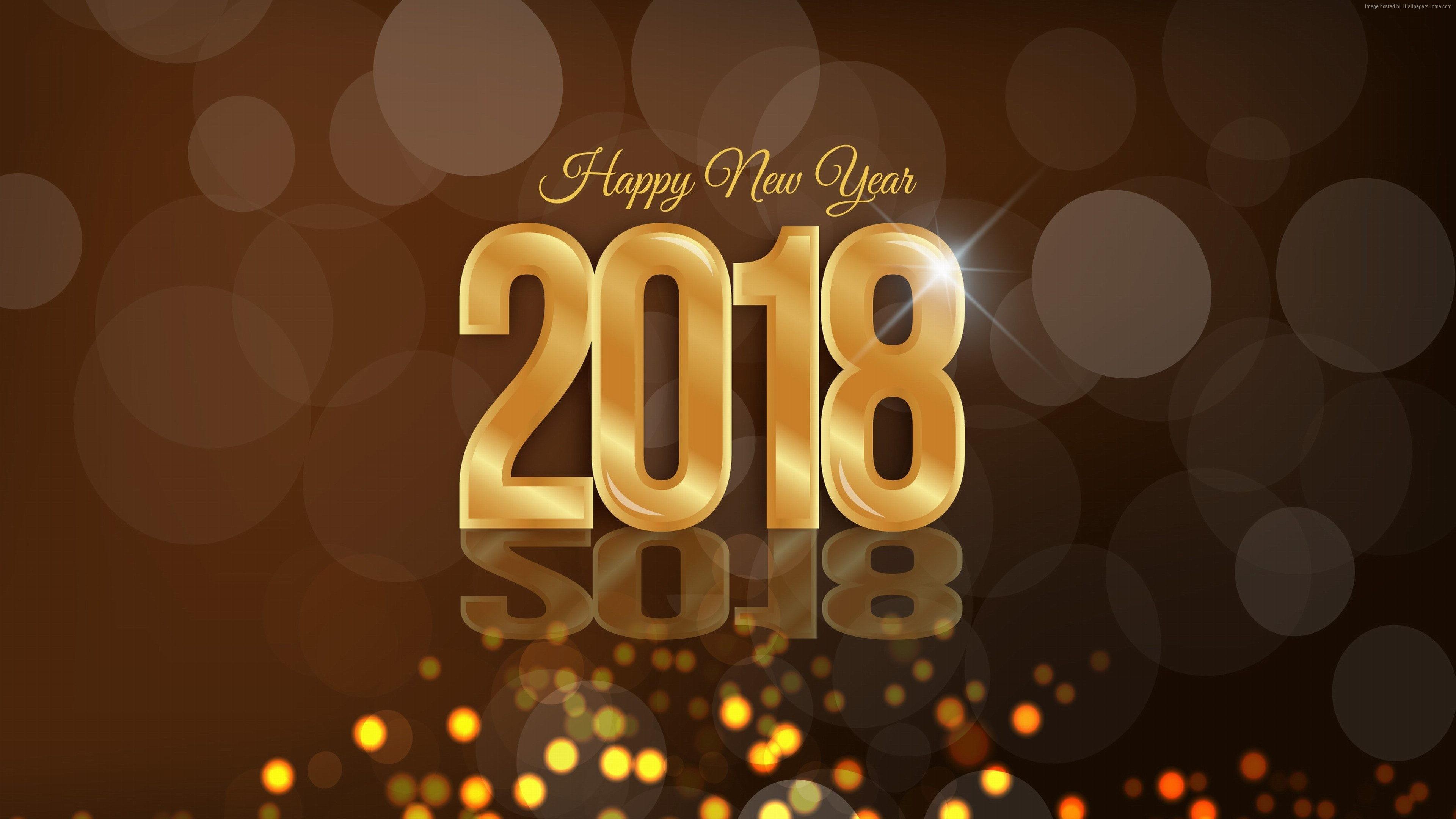 Wallpaper Christmas New Year 2018 4k Holidays 2018 4k